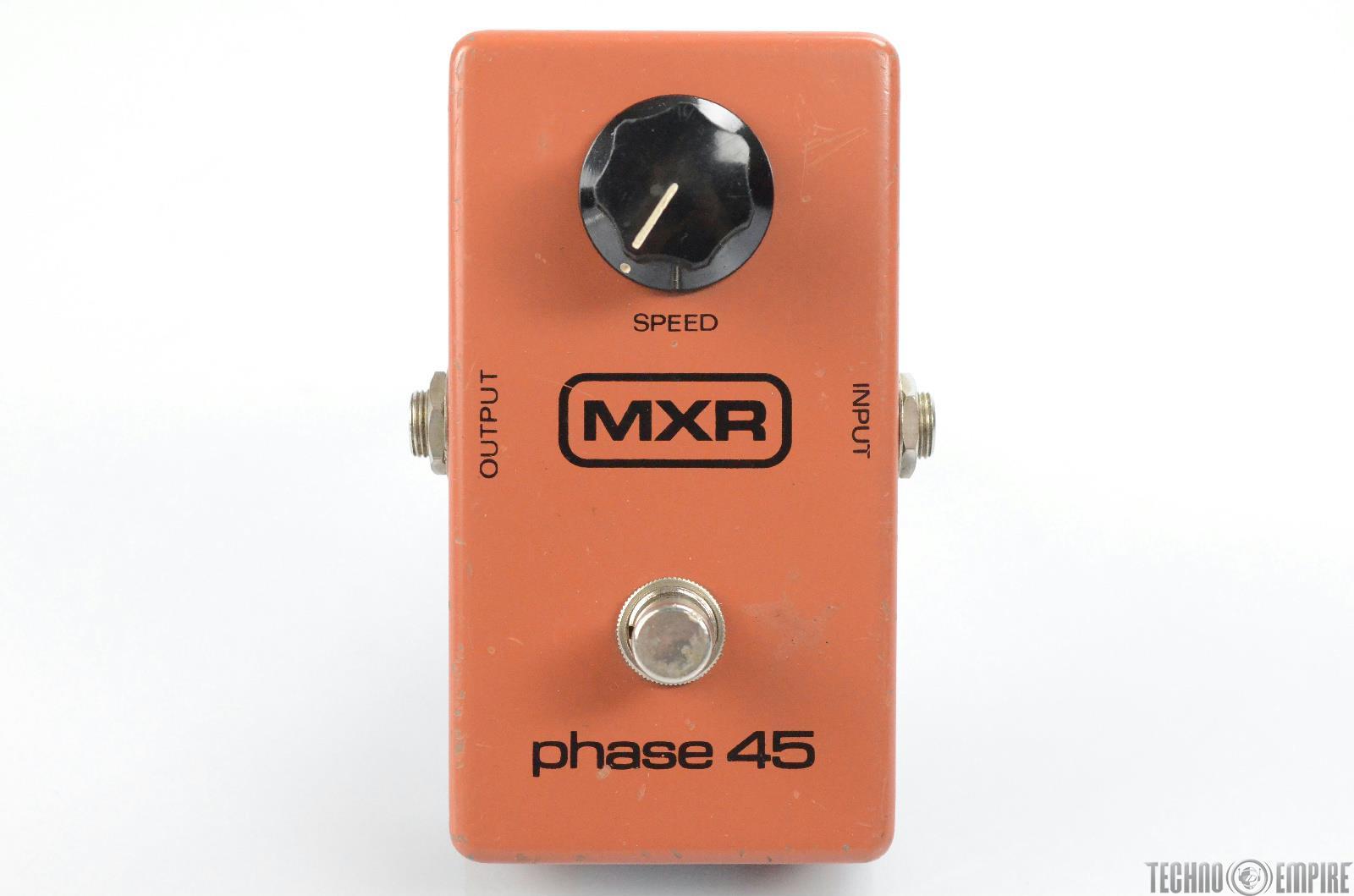 MXR Phase 45 Block Logo Phaser Effect Pedal Owned by Matt Hyde #30118