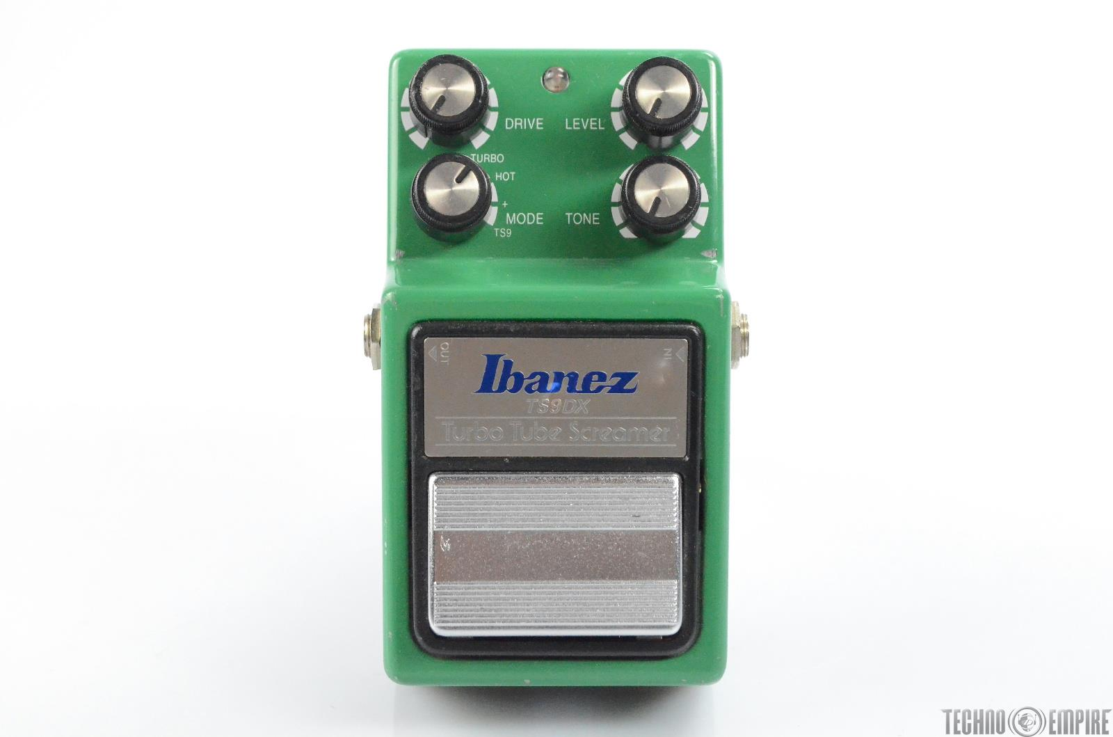 Ibanez TS9DX Turbo Tube Screamer Effects Pedal Owned by Matt Hyde #30190