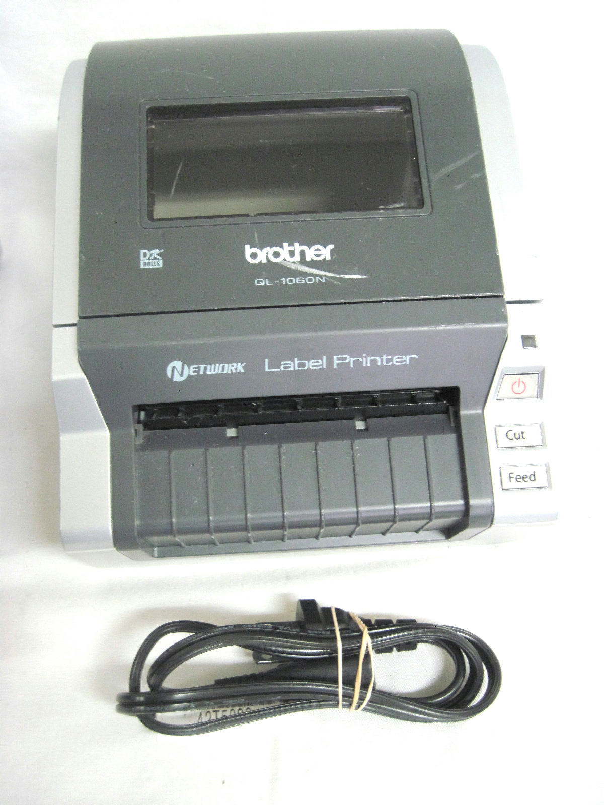 brother label printer templates - 2x brother ql 1060 wide format label printer usb serial