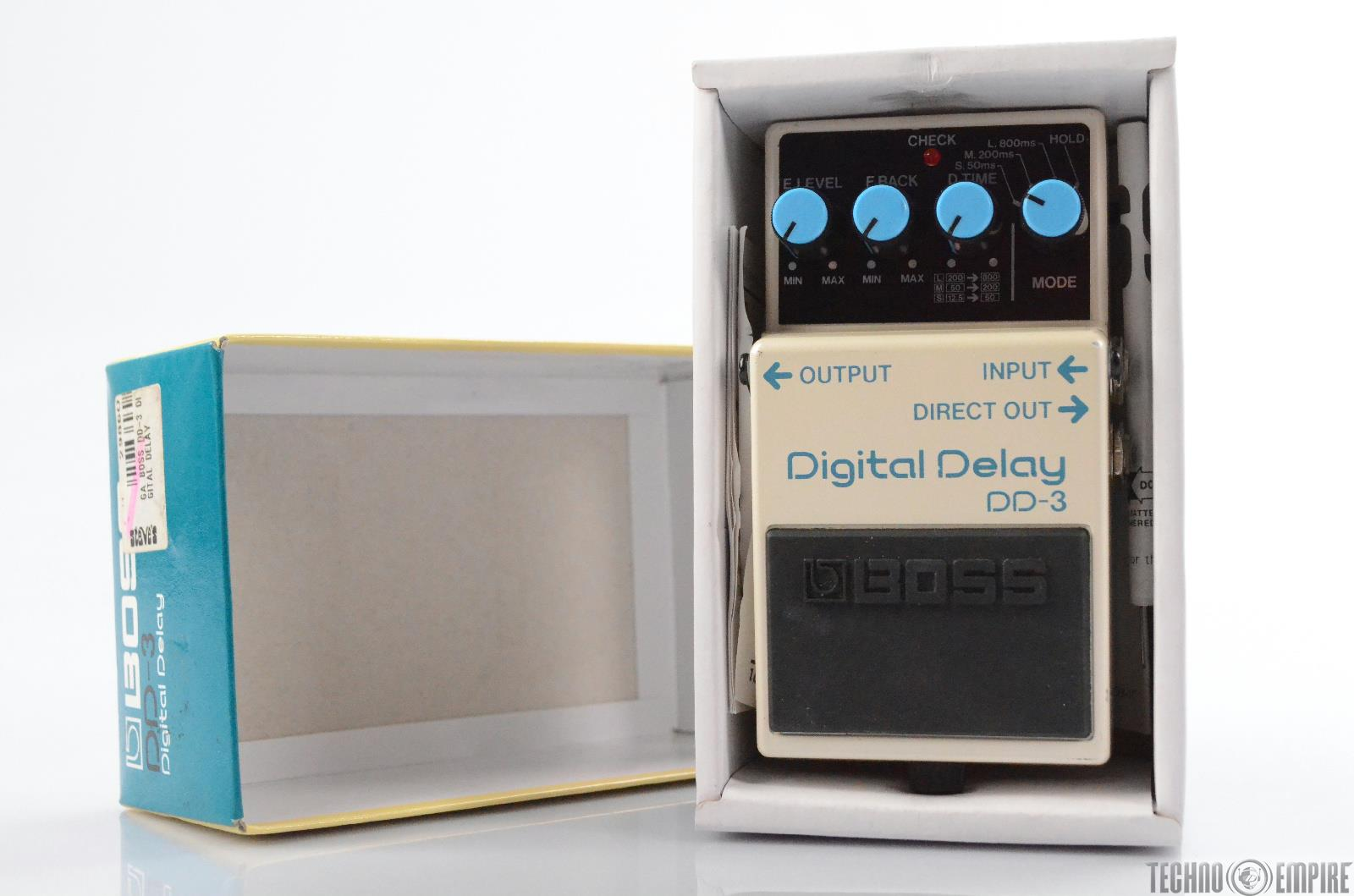 Boss DD-3 Digital Delay Effect Guitar Pedal w/ Box DD3 Owned by Matt Hyde #30149