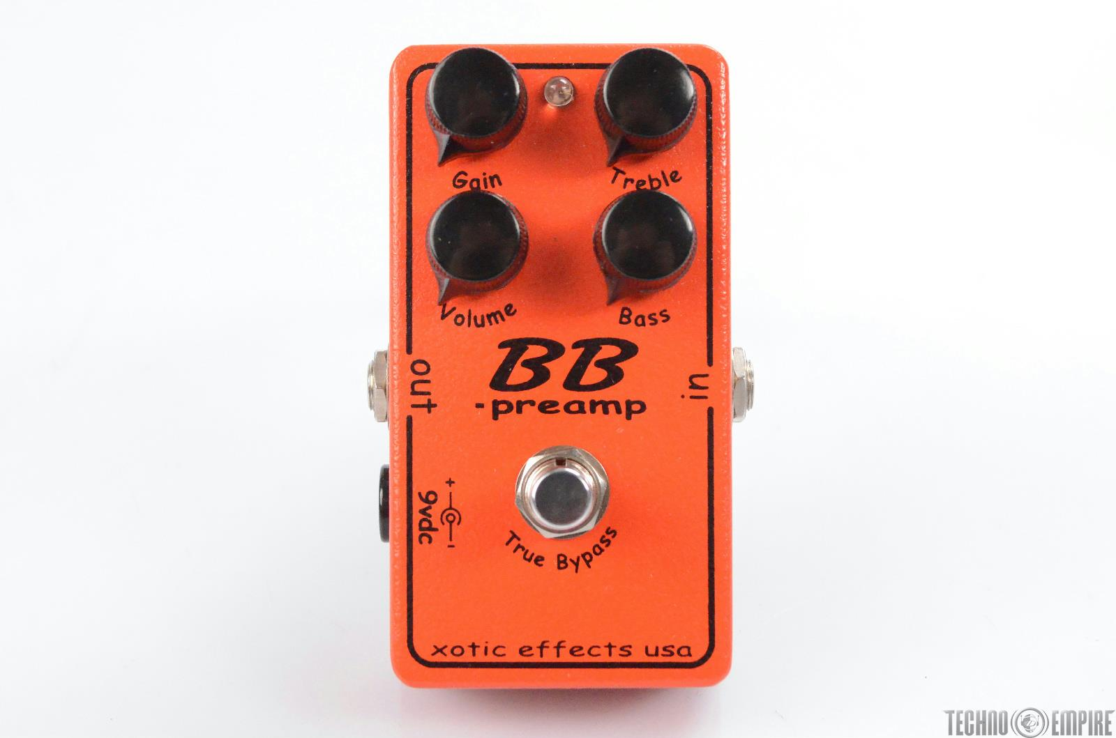 Xotic Effects BB Preamp Overdrive Guitar Pedal Owned by Matt Hyde #30249