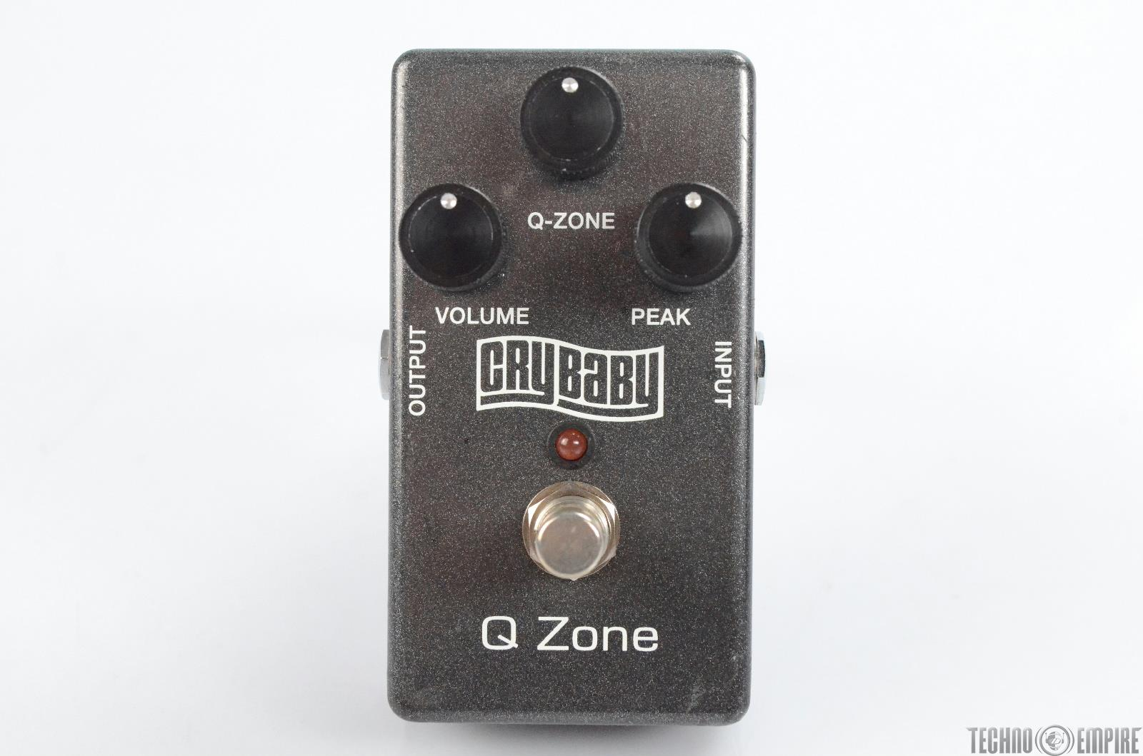 Dunlop Crybaby Q Zone Fixed Wah Effect Guitar Pedal Owned by Matt Hyde #30159