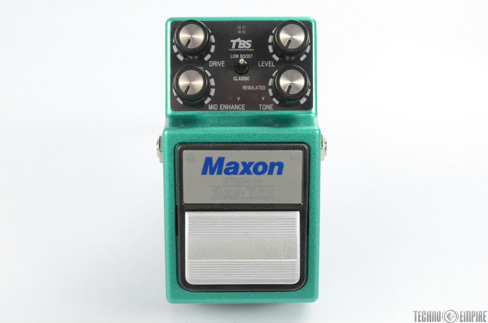 Maxon ST9Pro+ Super Tube Guitar Pedal Owned by Matt Hyde #30230