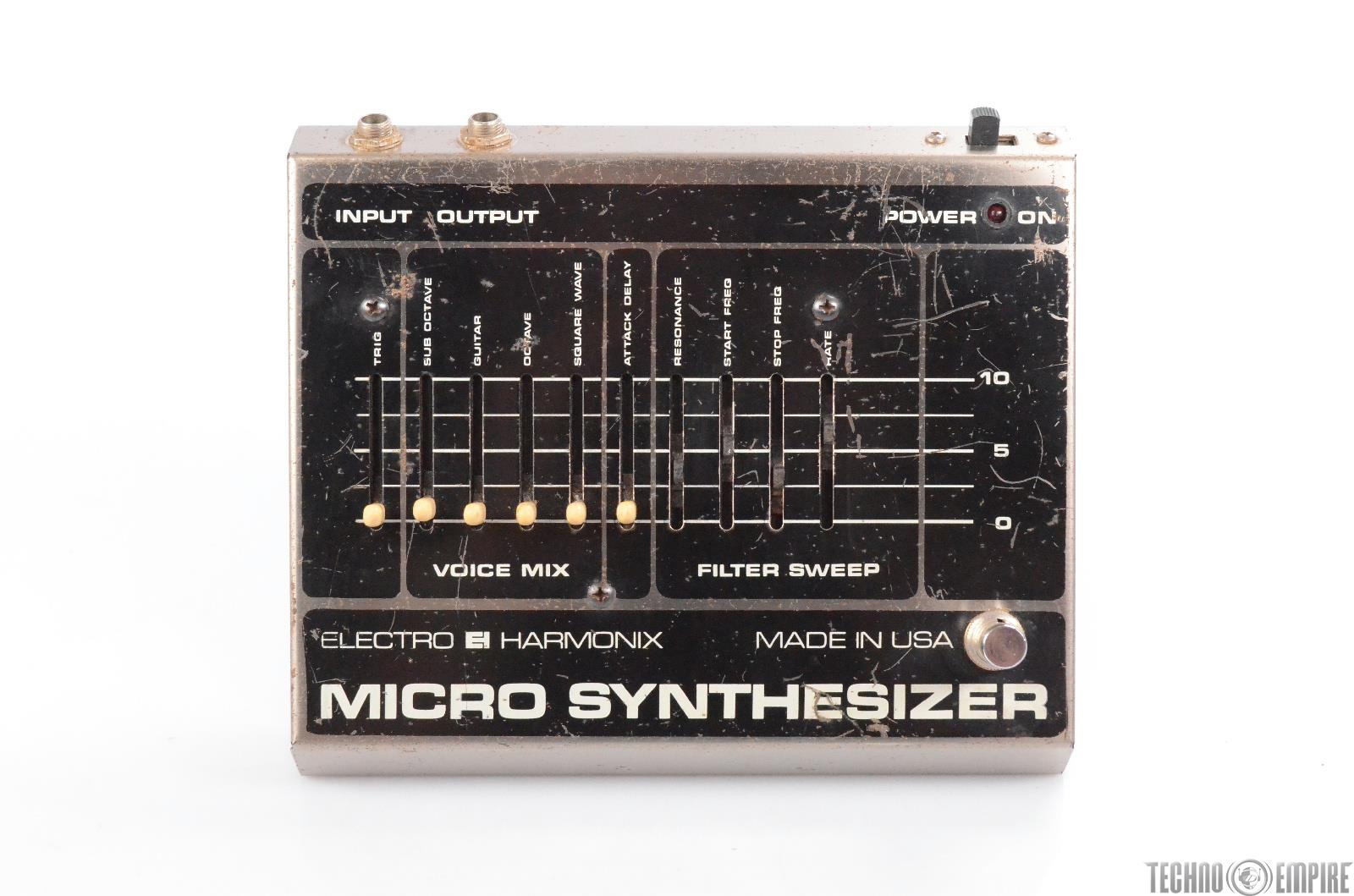 Electro-Harmonix Micro Synthesizer Analog Guitar Pedal Owned by Matt Hyde #30141