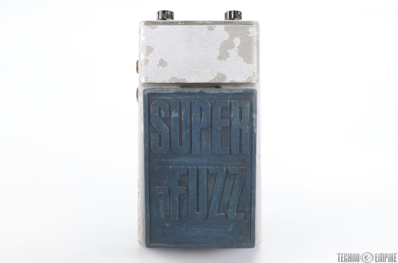 Univox Super Fuzz Vintage Guitar Pedal Owned by Matt Hyde #30243