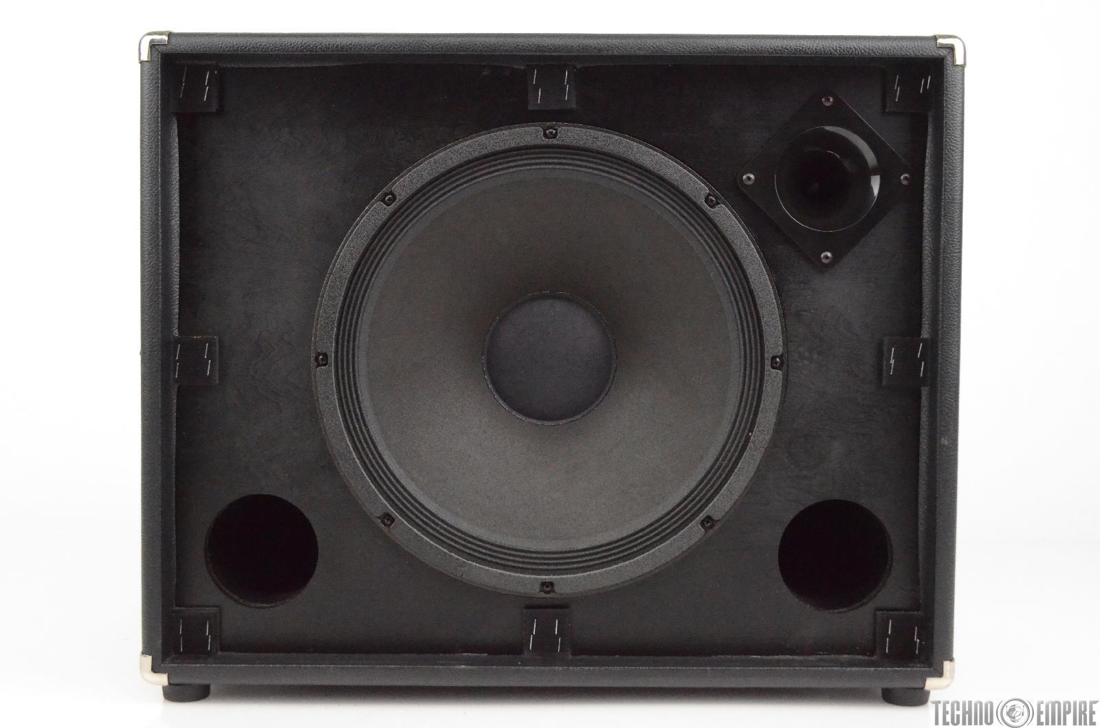 fender bassman 115 neo bass speaker cabinet w hard road case 8 ohm cab 29821 ebay. Black Bedroom Furniture Sets. Home Design Ideas