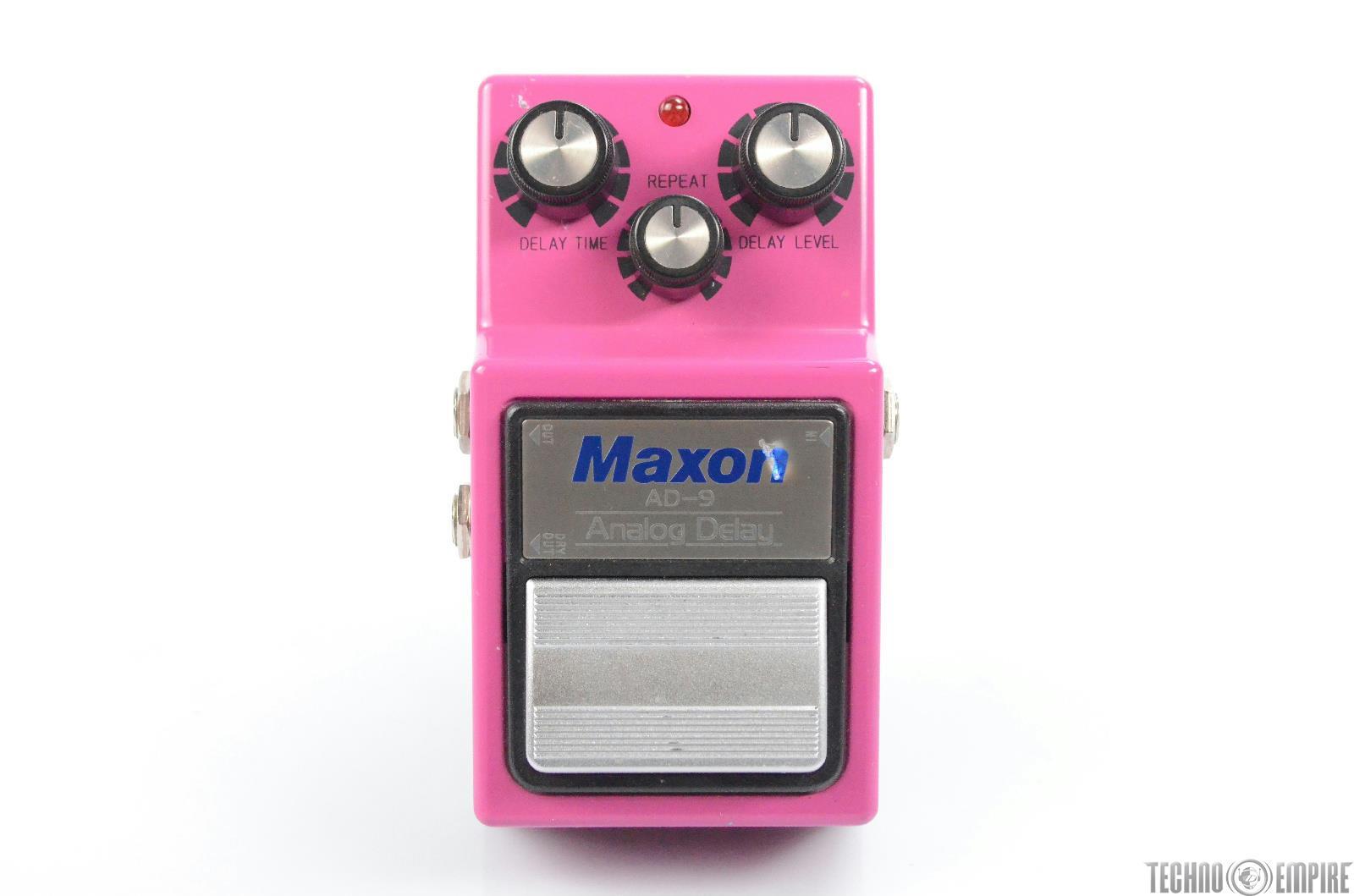 Original Maxon AD-9 Analog Delay Guitar Effects Pedal AD9 #30358