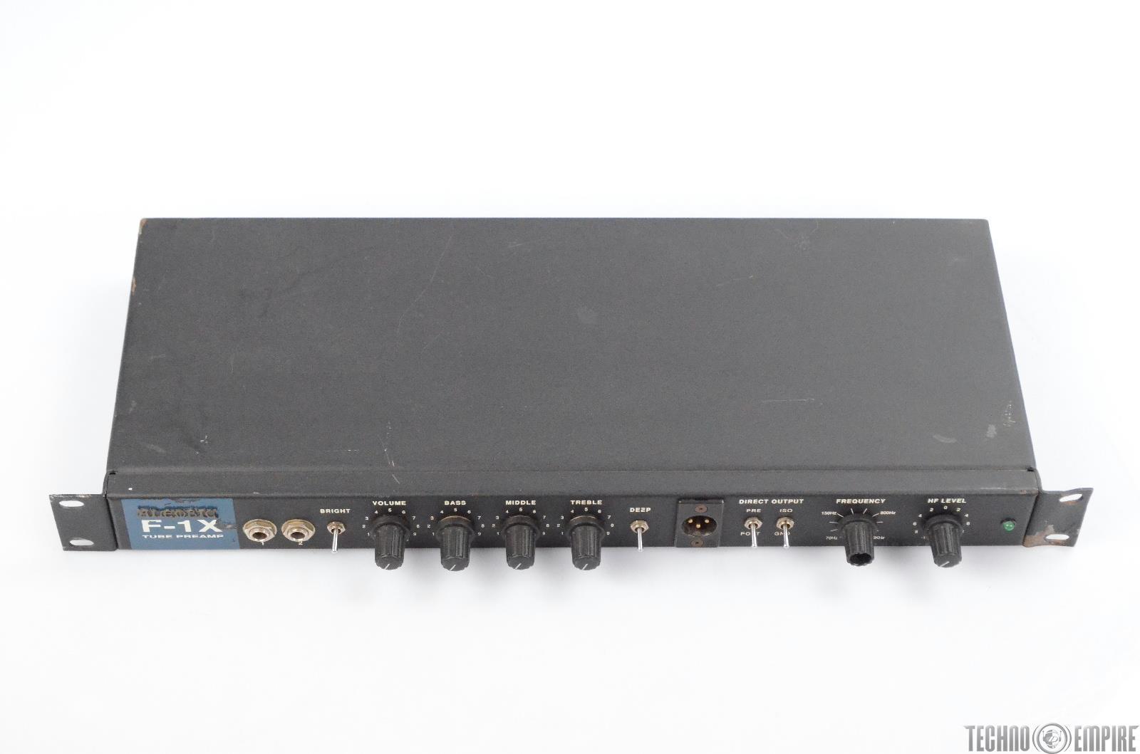 Alembic F 1x Tubo Bass Preamp Pre Amplificador Mono F1x 30333 Ebay