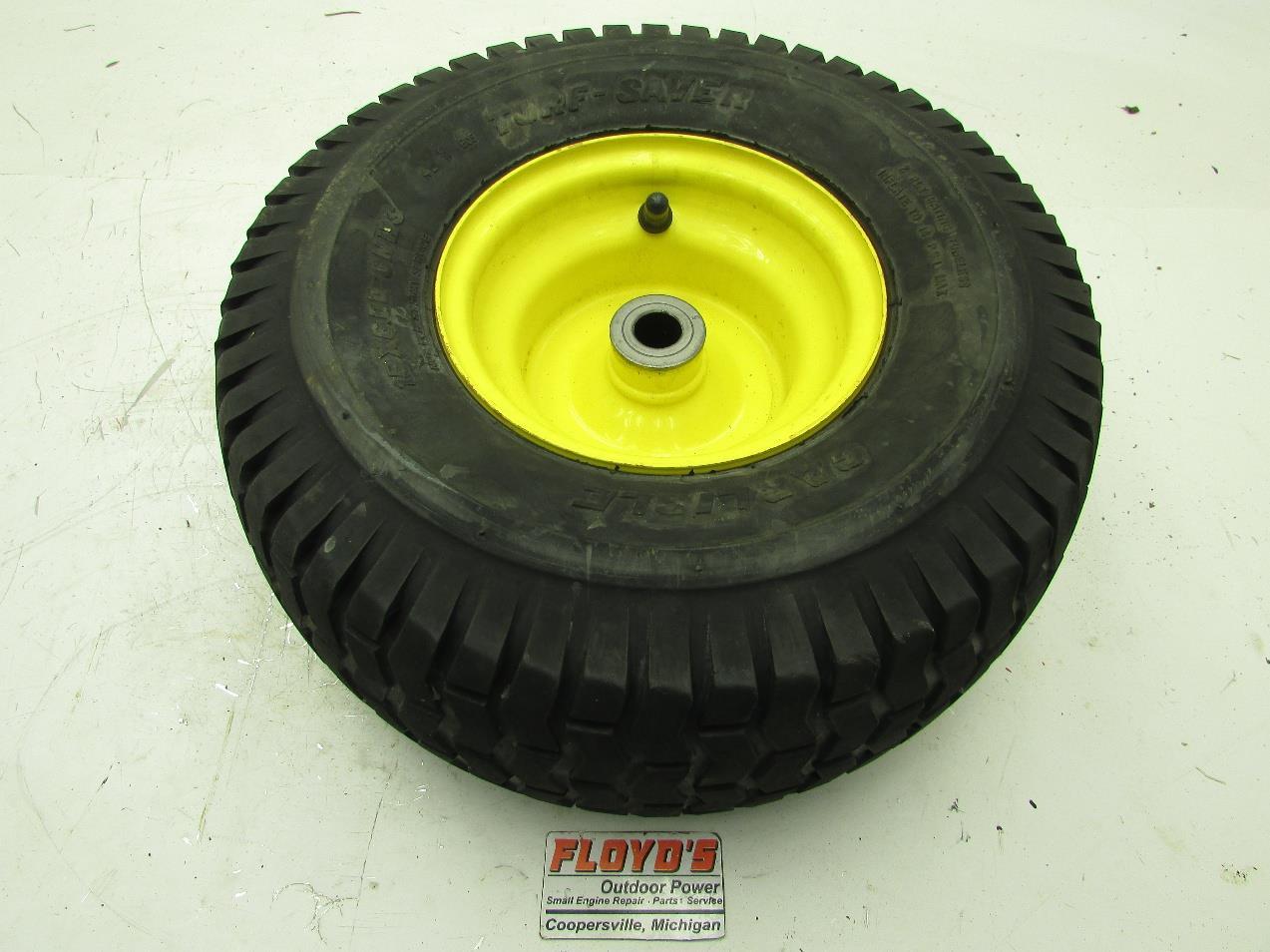 John Deere Garden Tractor Tires : John deere lawn tractor quot front wheel rim tire