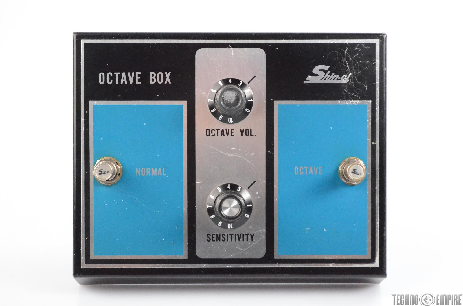 Shin-Ei Octave Box Electric Guitar Effect Pedal Stompbox ShinEi #30415