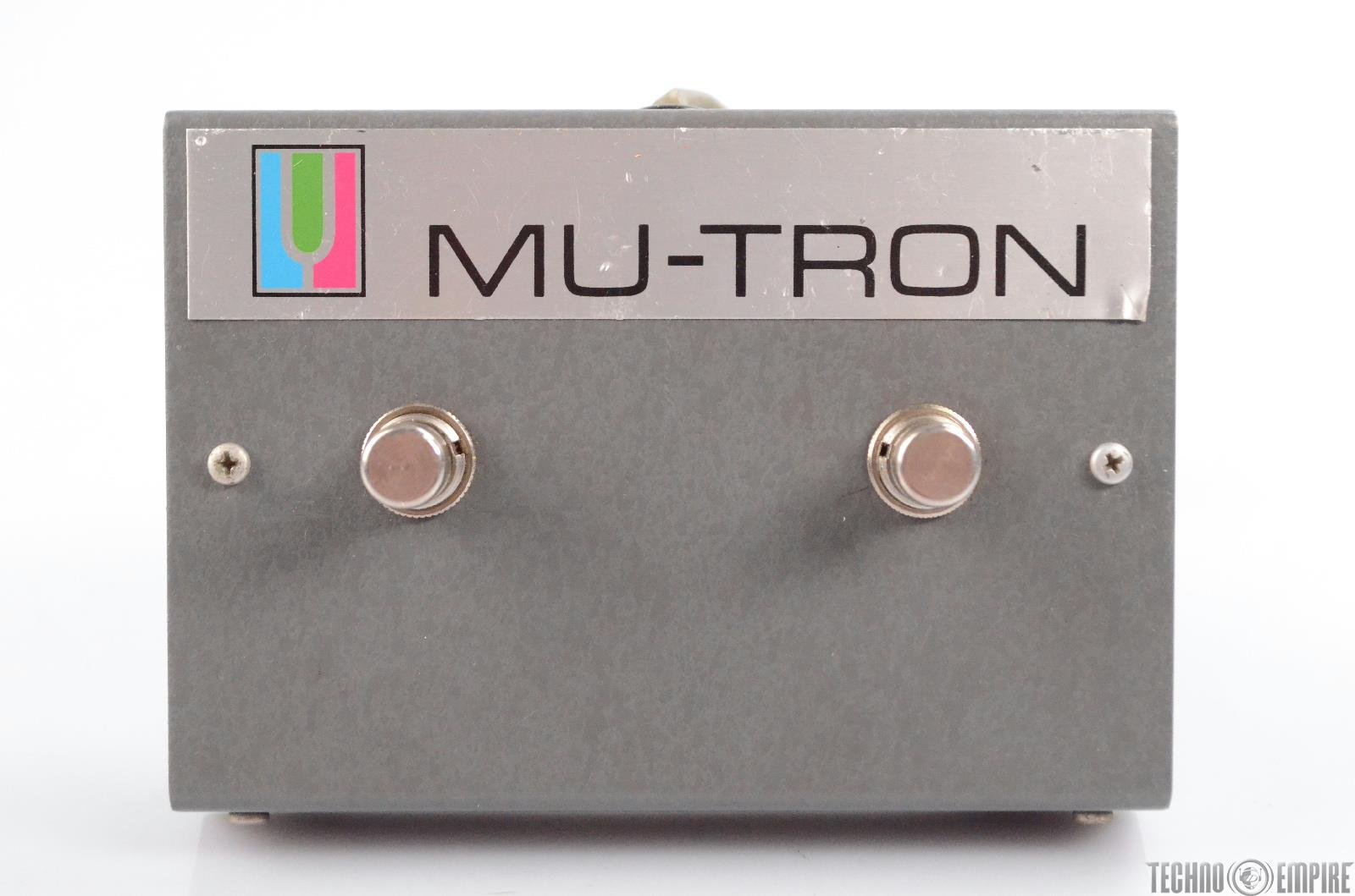 Mu-Tron Dual Foot Switch for Bi-Phase Effect Unit Footswitch BiPhase #30393