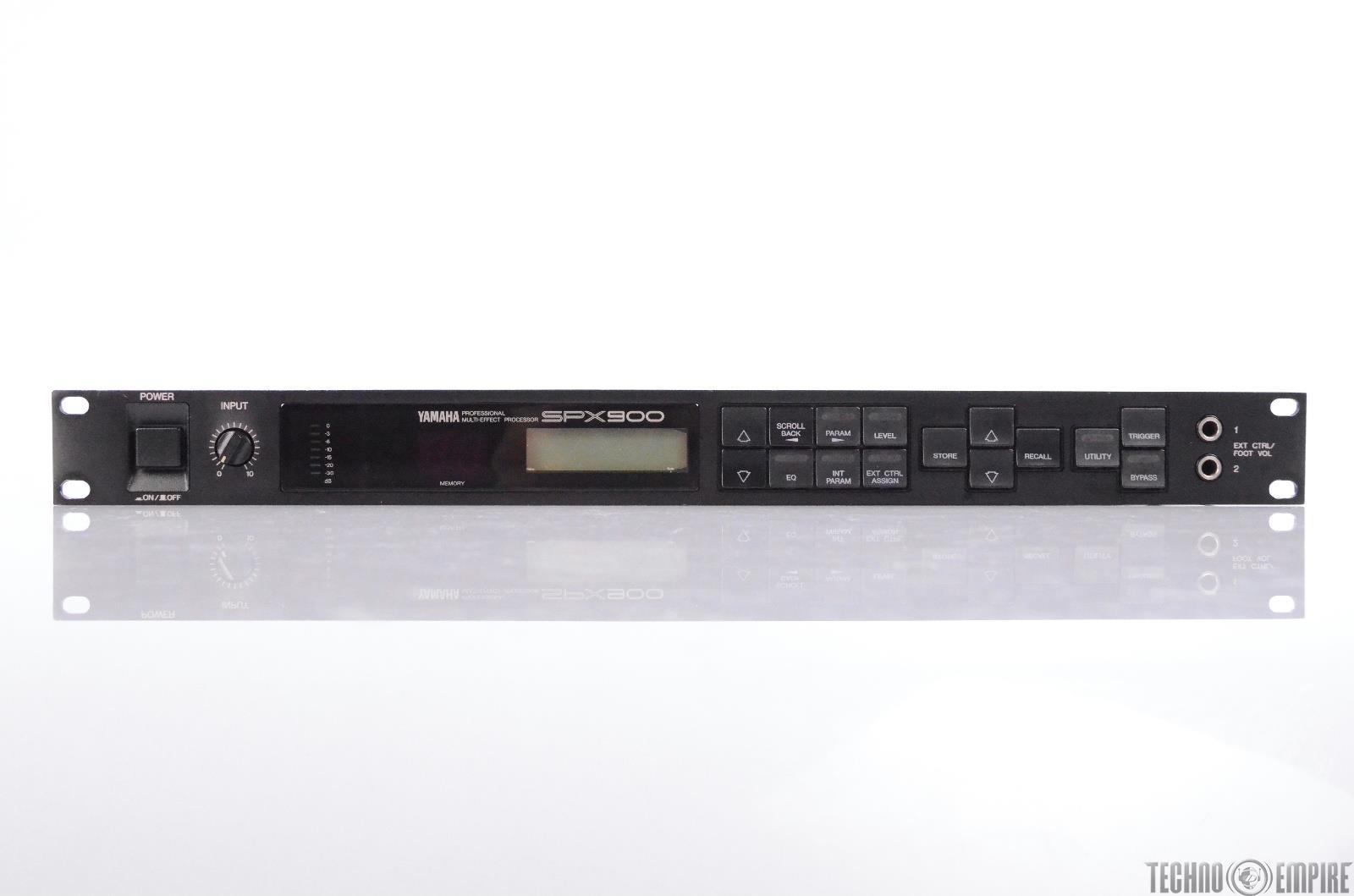 Yamaha SPX900 Professional Multi-Effect Processor Sunset Sound Factory #30507