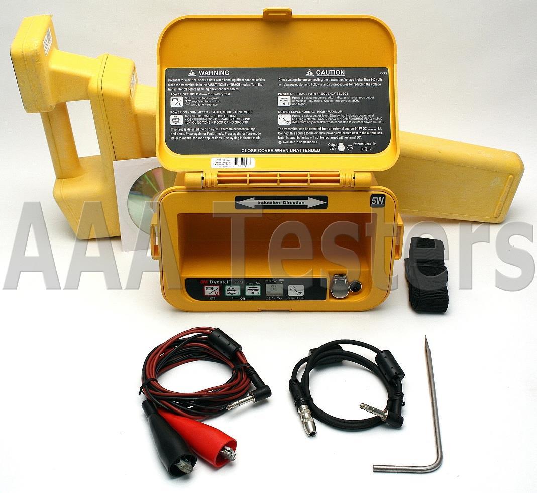 2273 3m Fault Locator : M dynatel cable pipe fault locator u p ebay