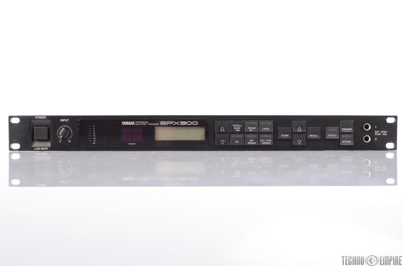 Yamaha SPX900 Professional Multi-Effect Processor Sunset Sound Factory #30509
