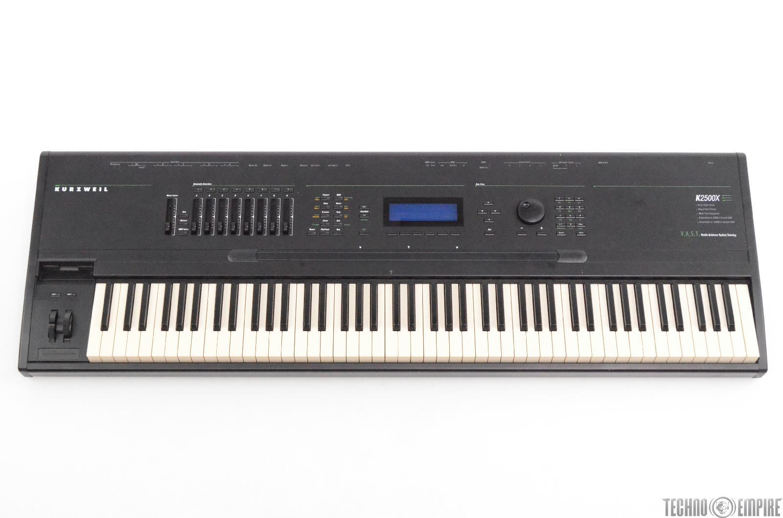 Kurzweil K2500X 88-Key Weighted Keyboard Synthesizer Sampler Workstation #30608