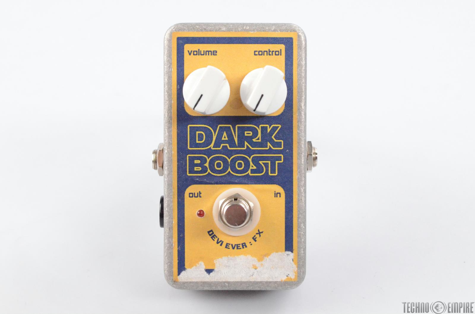 Devi Ever FX Dark Boost Guitar Effects Pedal For Parts or Repair #30337