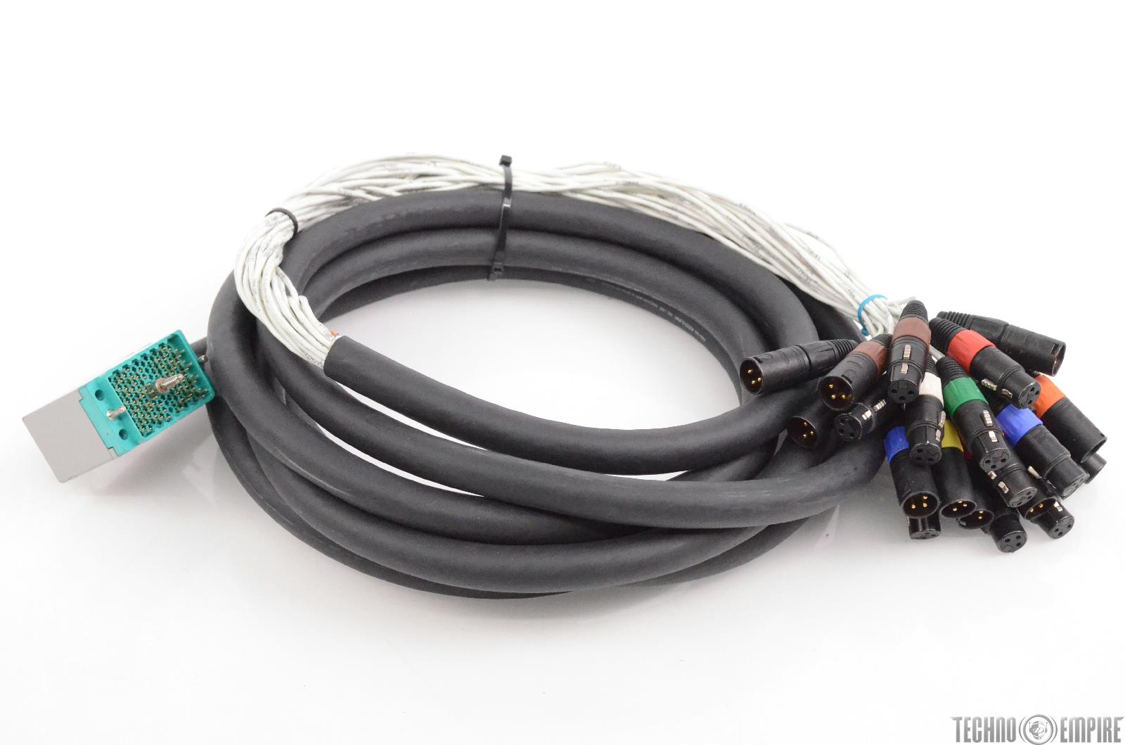 ProCo 18' 120 Pin EDAC to Neutrik XLR Male & Female 24 Ch Snake Cable #30675