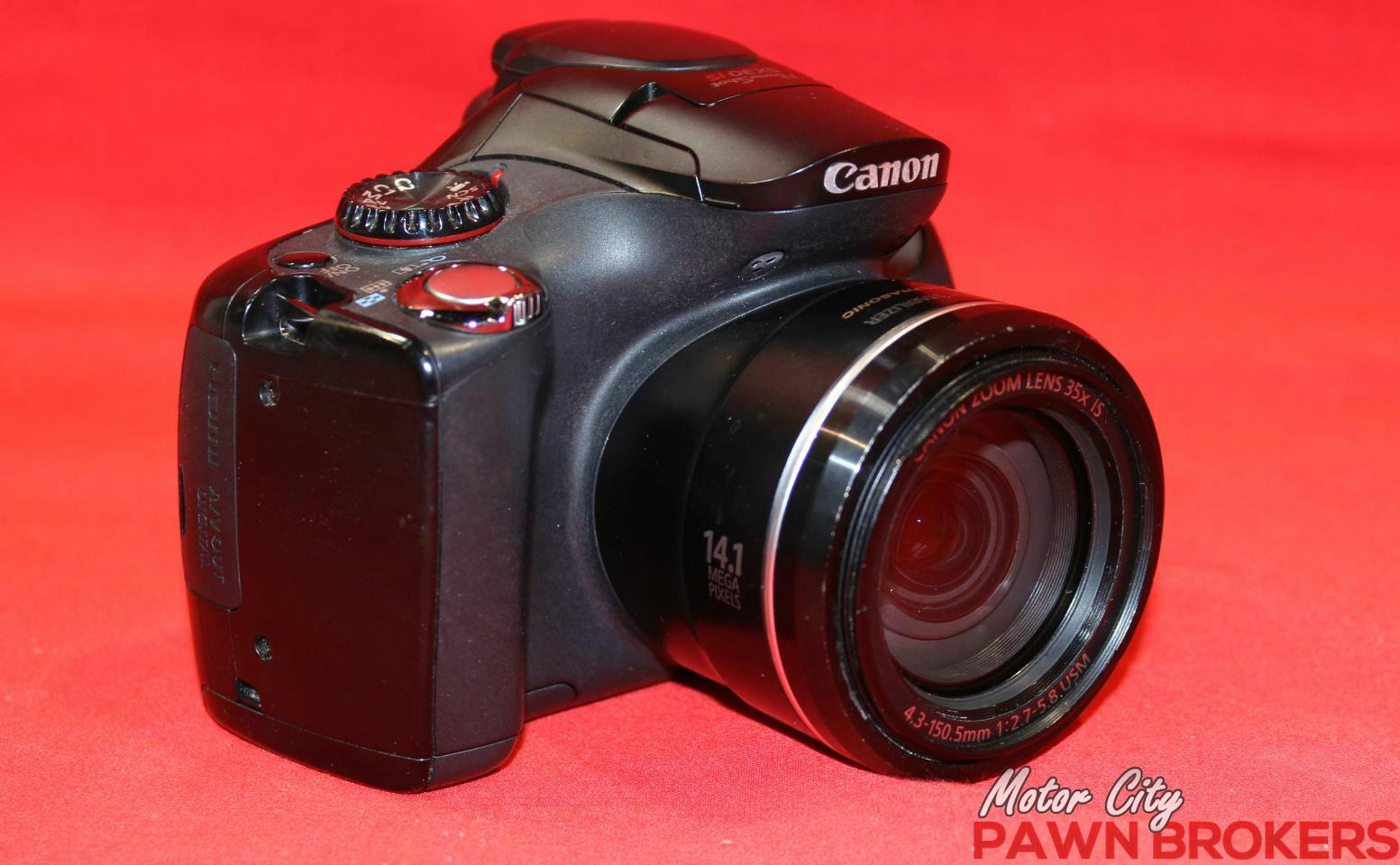 Canon Pc1560 Sx30 Is 14 1mp 35x Zoom 2 7 Display