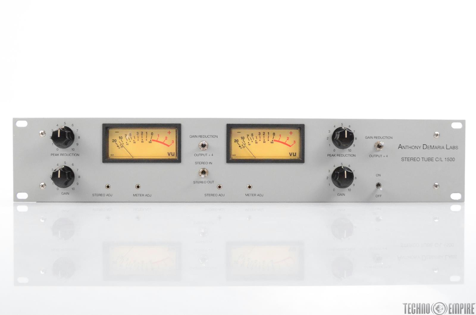 Anthony Demaria Labs ADL C/L 1500 Tube Compressor Sunset Sound Factory #30549