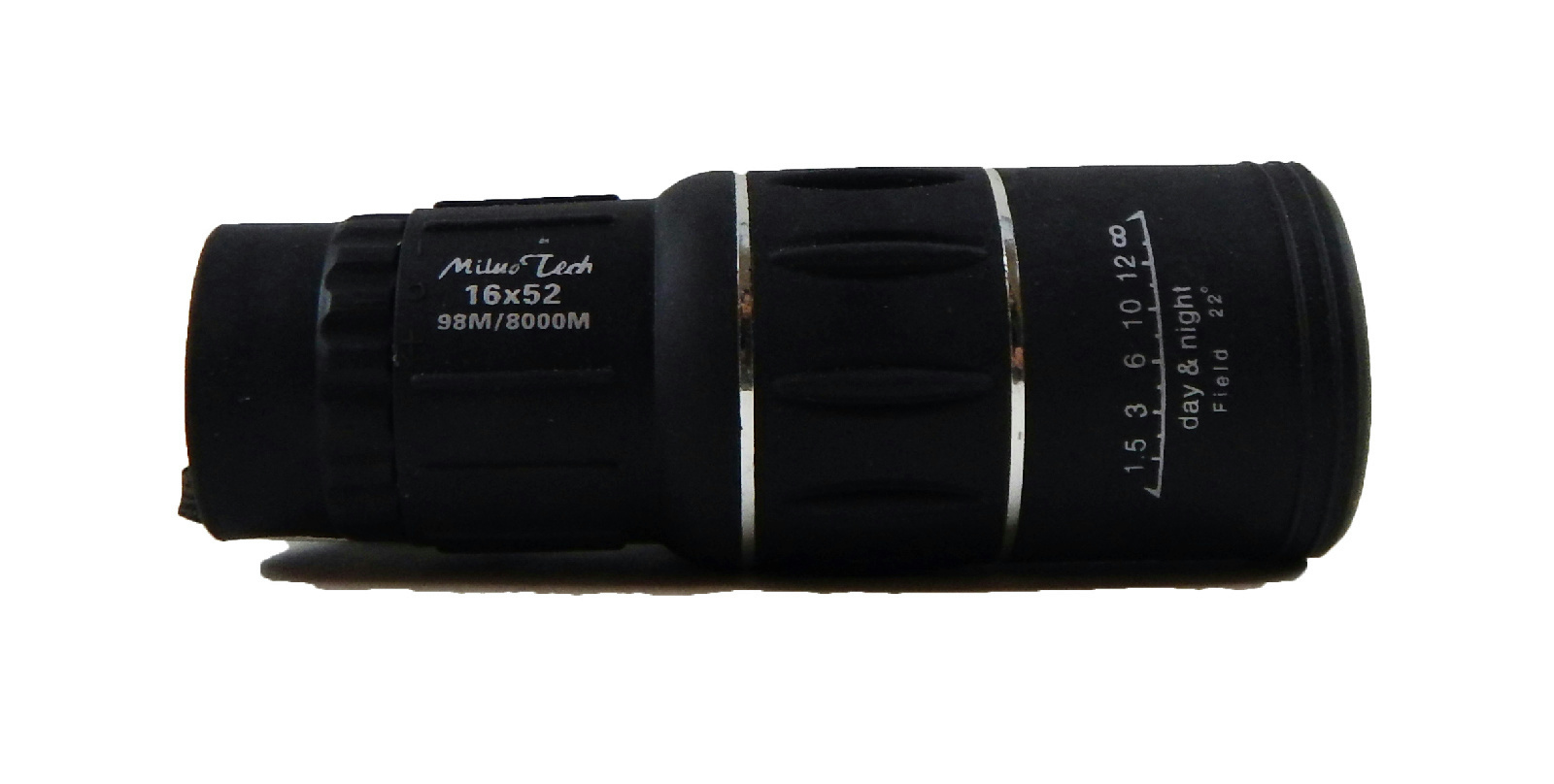 Miluo tech 16x52 zoom dual focus lens optics portable monocular