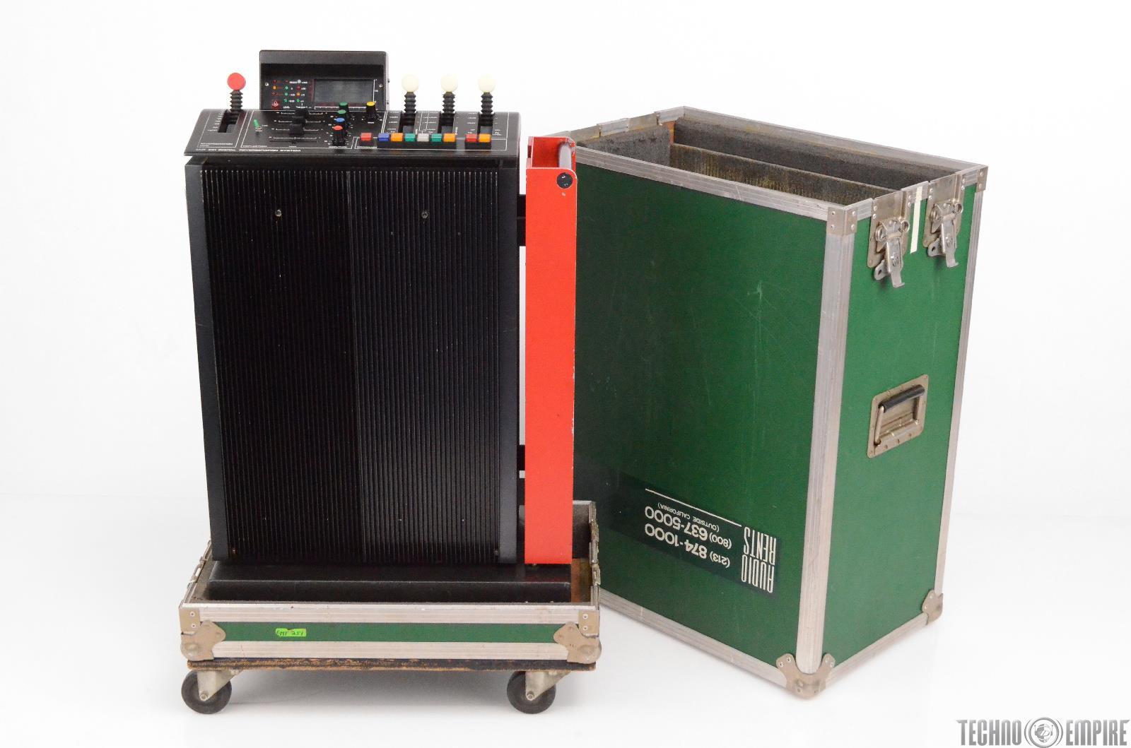 EMT 251 Digital Reverberation System Reverb w/Case Sunset Sound Factory #30604
