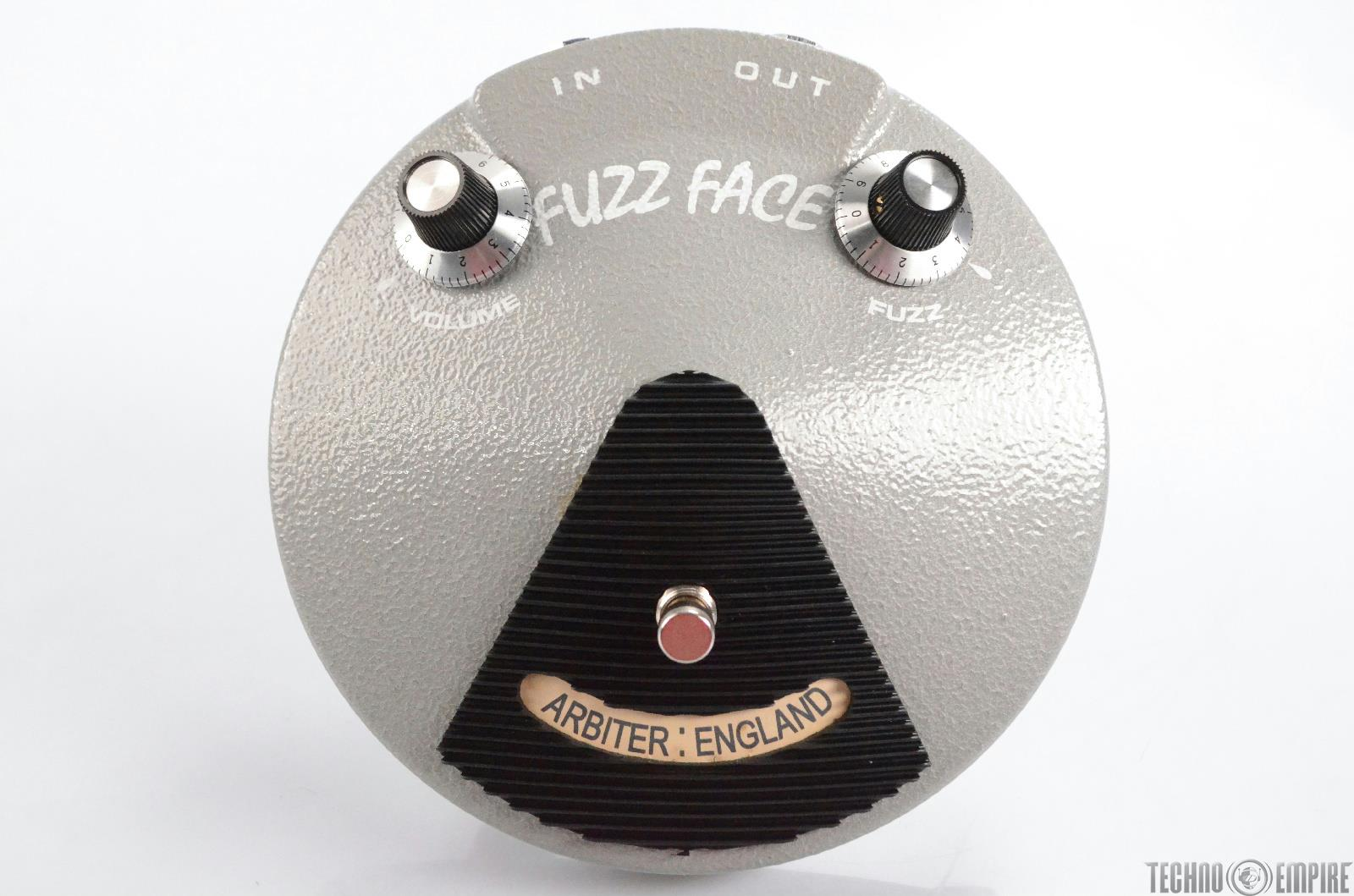 Arbiter England Grey Fuzz Face Guitar Pedal Reissue Made in England #30413