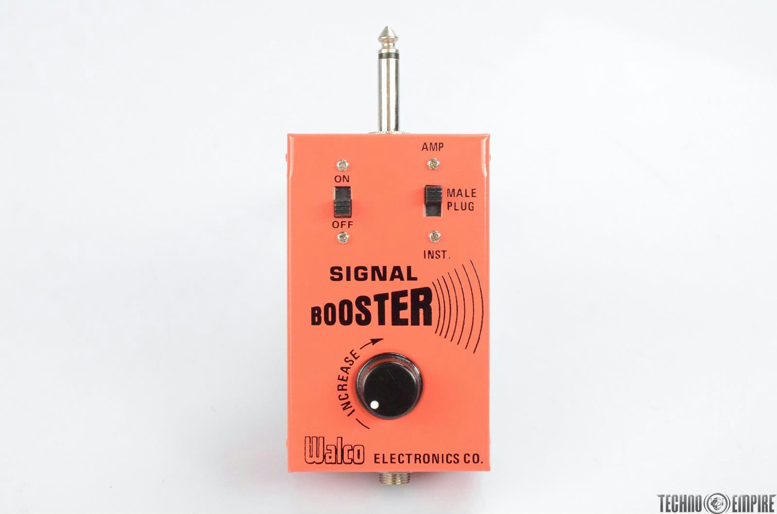 Walco Signal Booster Guitar Amplifier Box Pedal #30705