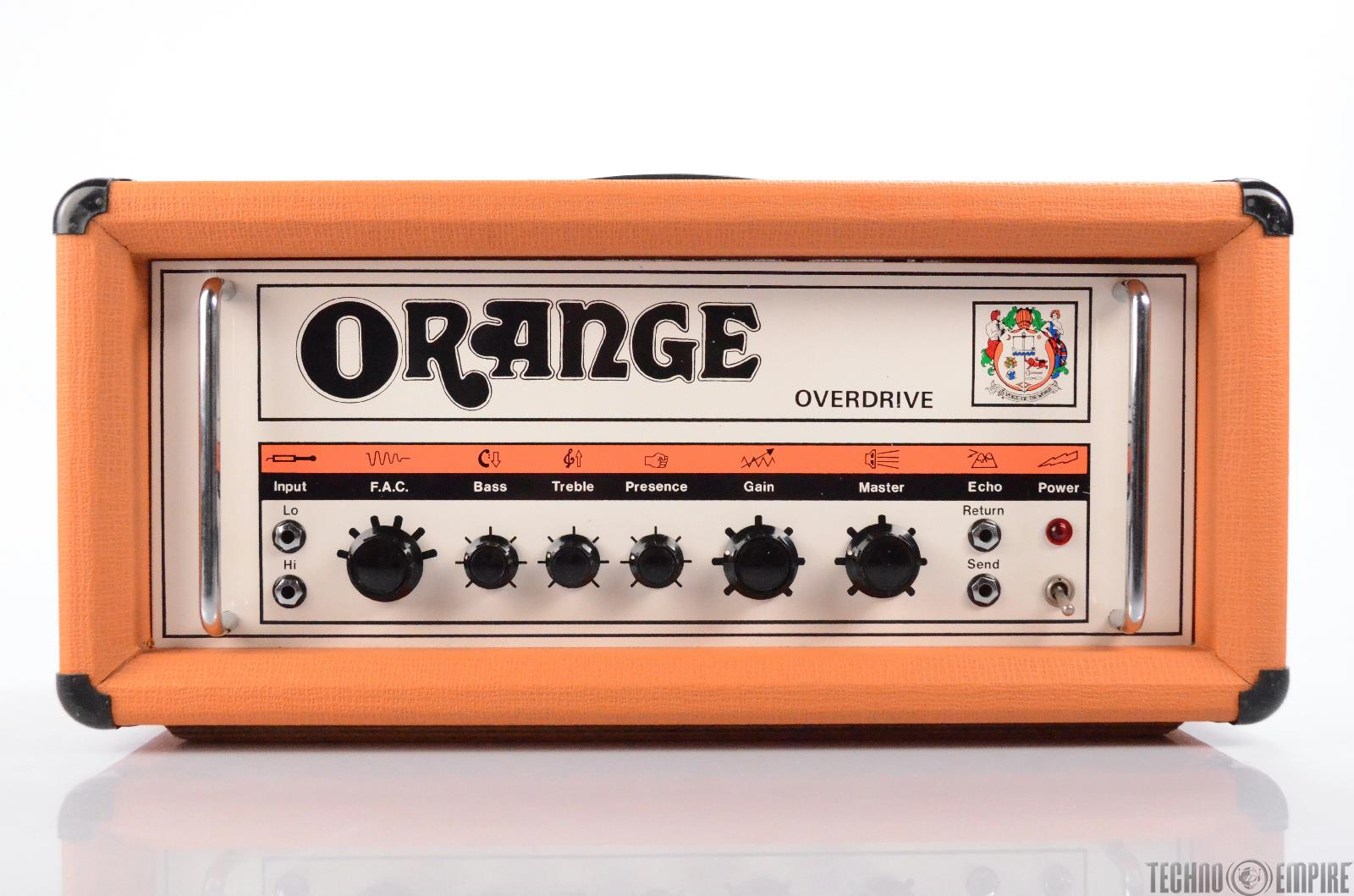 1976 Orange Overdrive OR120 Tube Amplifier Guitar Head Amp OR 120 #30699