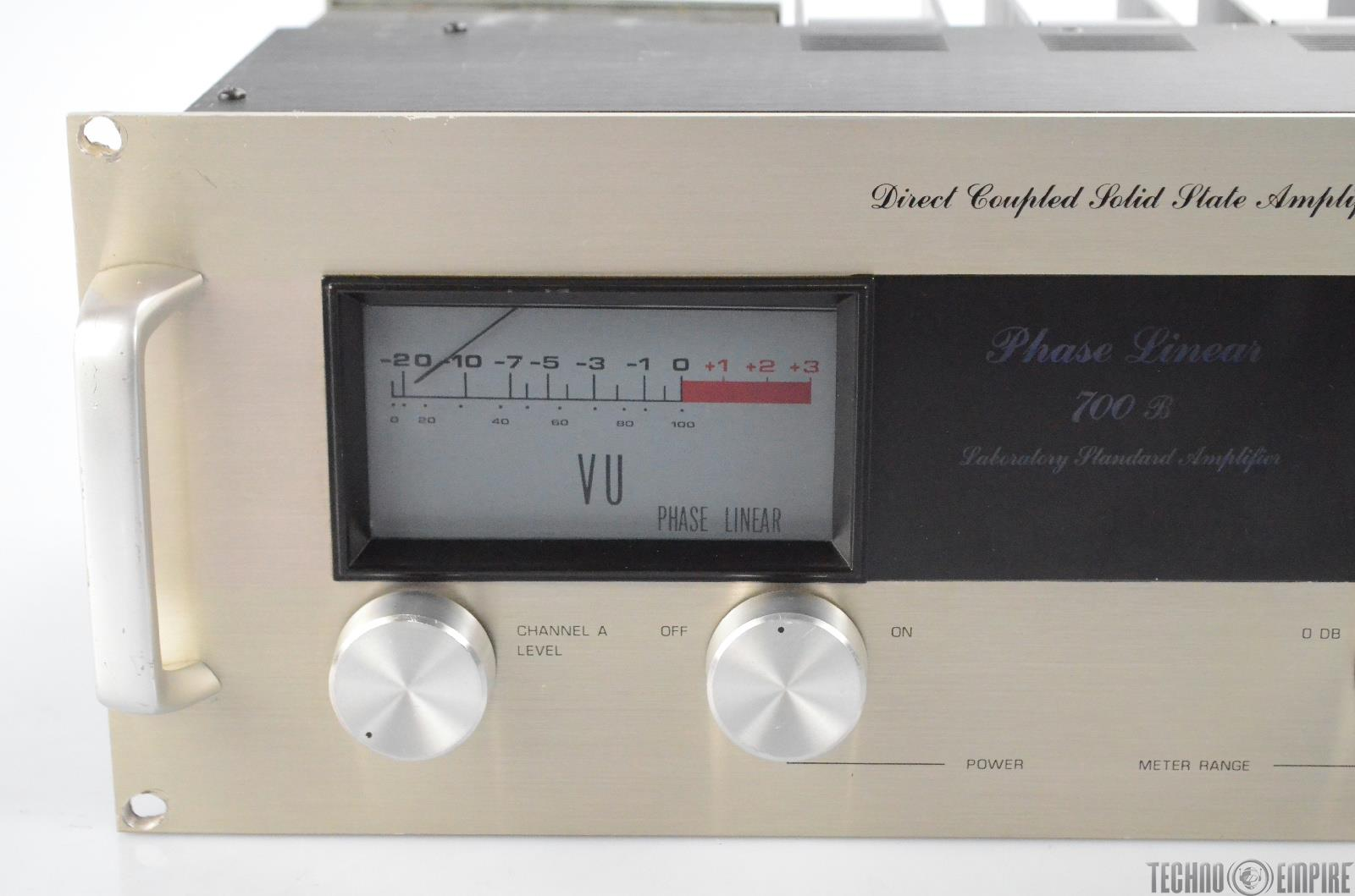 Phase Linear 700b Stereo Solid State Amplifier Sunset Sound Factory Direct Coupled Radio 30564