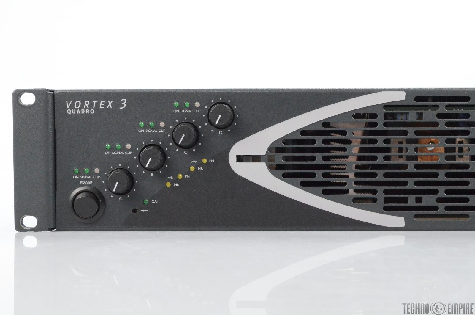 Camco Vortex 3 Quadro 4 Channel Power Amplifier Amp Made In Germany 30720 Ebay