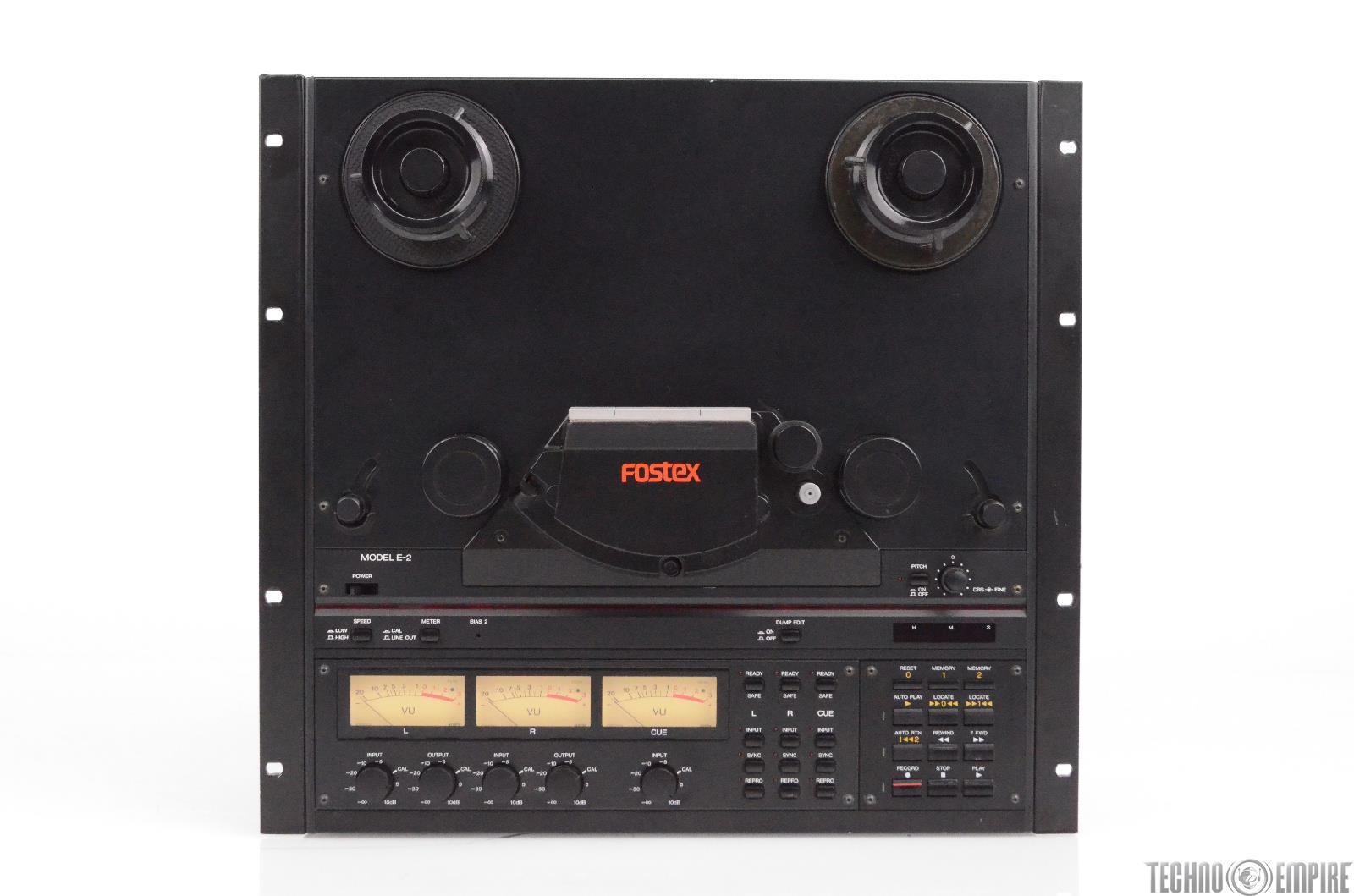 Fostex E-2 Reel to Reel 2 Track Analog Tape Recorder & Reproducer E2 #30728