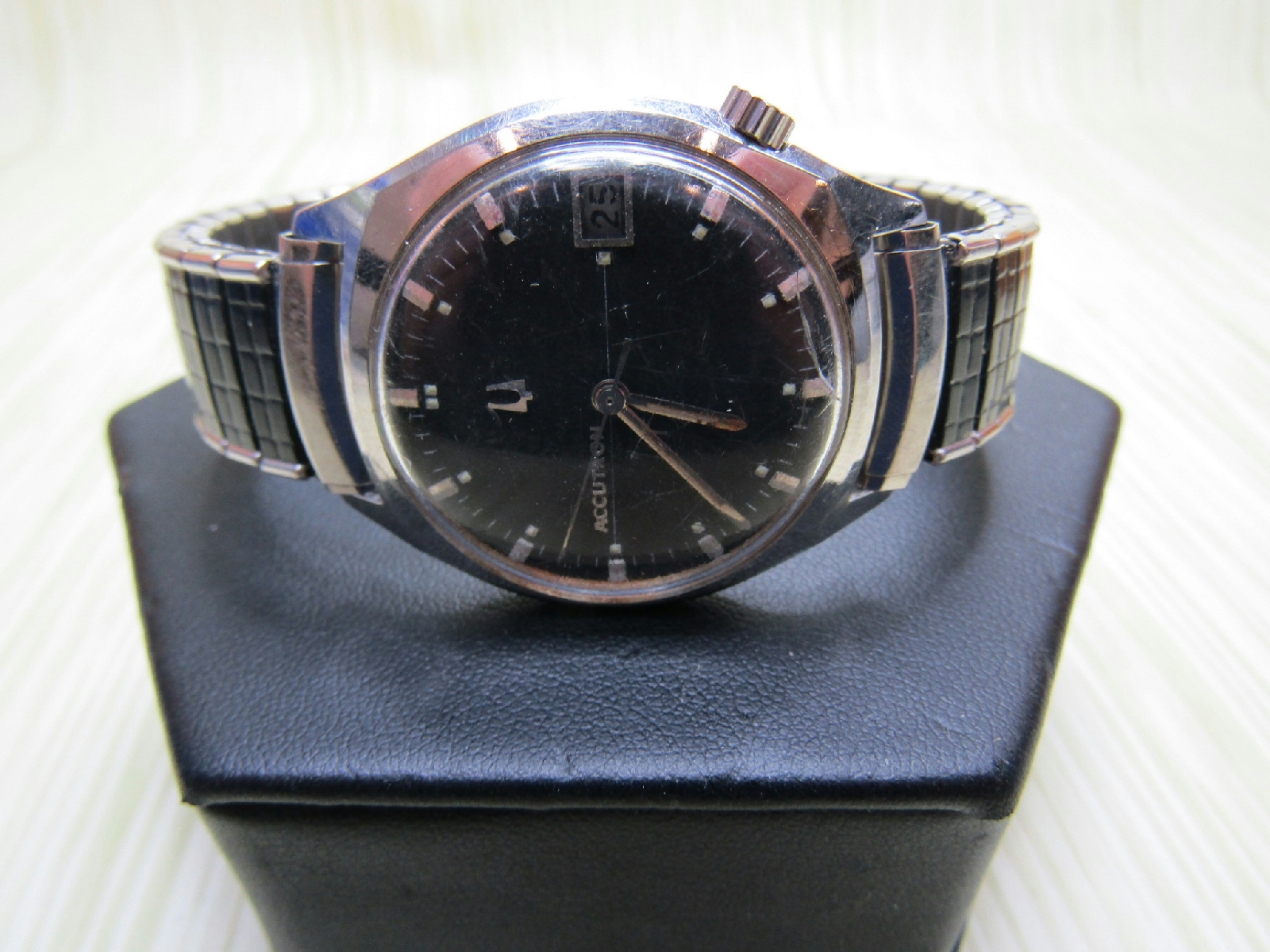 BULOVA Accutron Jewelry Wrist Watch For Parts Repair ...