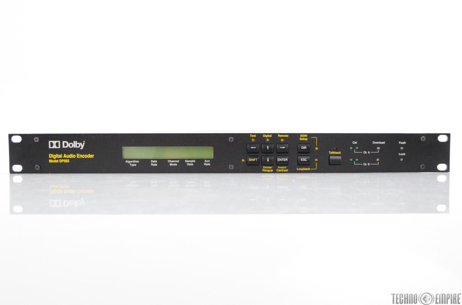 Dolby Model DP503 Two-Channel Digital Audio Encoder DP 503 #30649