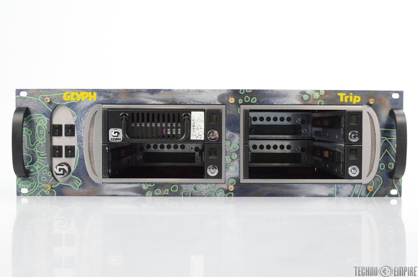 Glyph Trip 4-Slot External Hard Drive Rack w/ Seagate ST3146807LW 147GB #30820