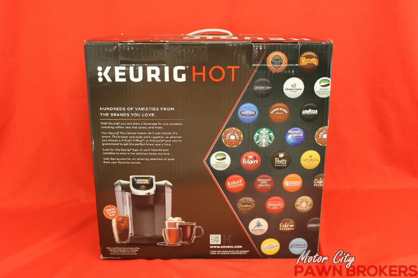 Keurig Hot 2 0 K575 Plus K2 0 500 80 Oz Single Serve