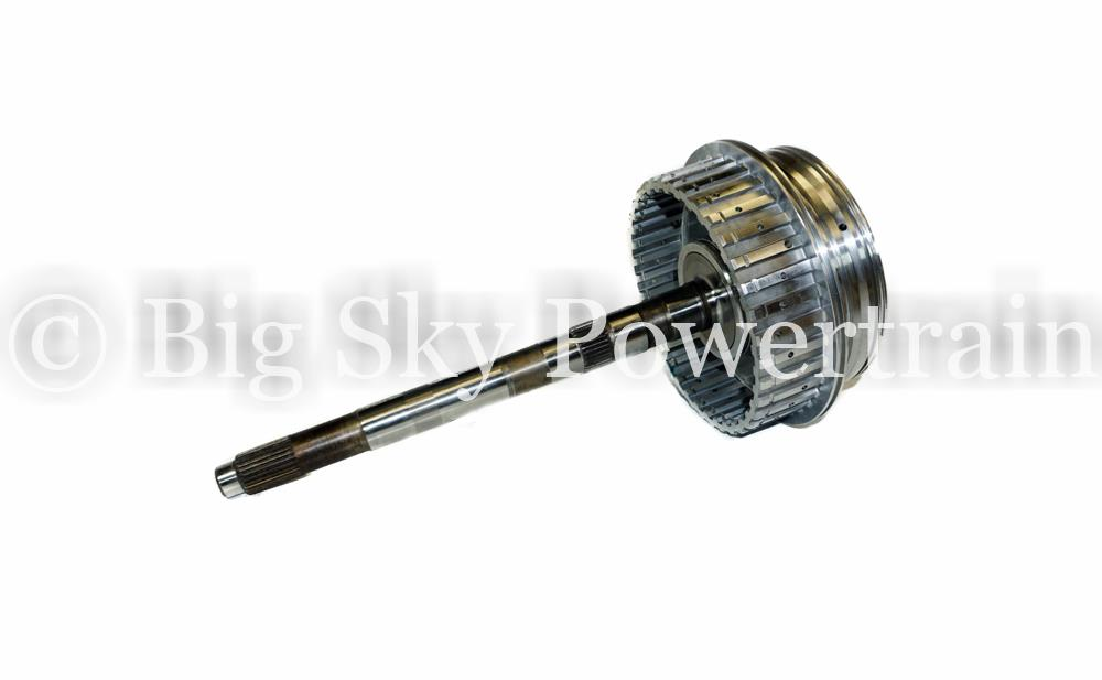 6T70 6T75 Transmission 4-5-6 Inupt Drum with shaft 2007 and Up GM Chevy Cadillac