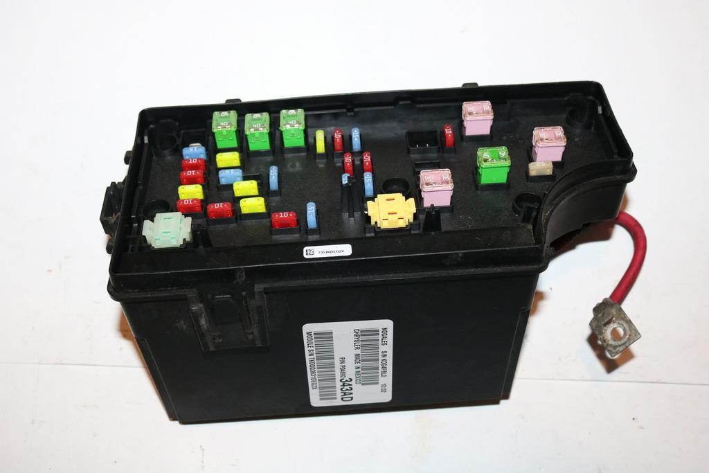 11 14 jeep patriot 4wd sport 2 4l under hood relay fuse box block rh ebay com Jeep Patriot Fuse Box Location 2010 Jeep Patriot Fuse Box Diagram