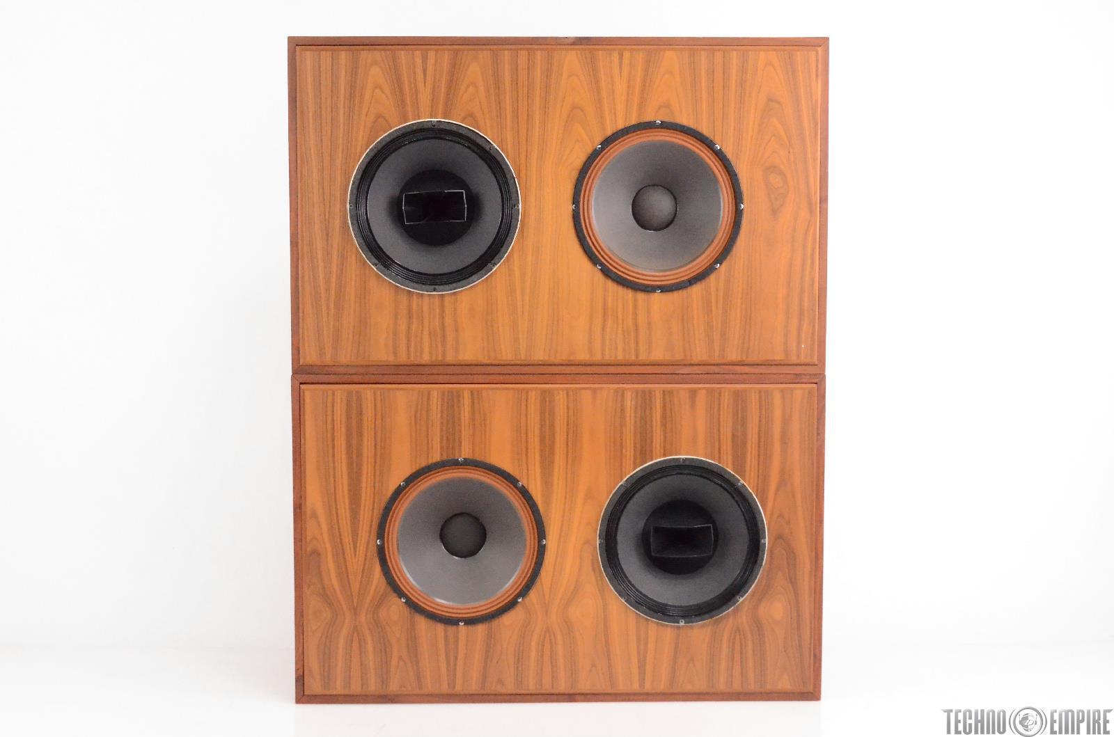 Altec Big Red Mains w/ Mastering Lab Crossovers Sound Factory Studio 604e #30612