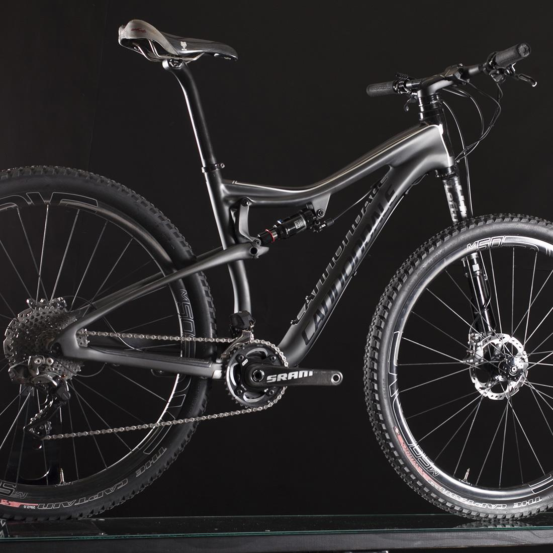 2015 Cannondale Scalpel-SI Black Inc. 29er XTR Di2 Carbon size MEDIUM ,NICE!