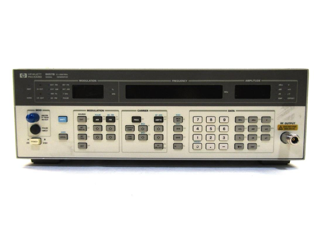 Hp Signal Generator : Hp b signal generator khz mhz Ω