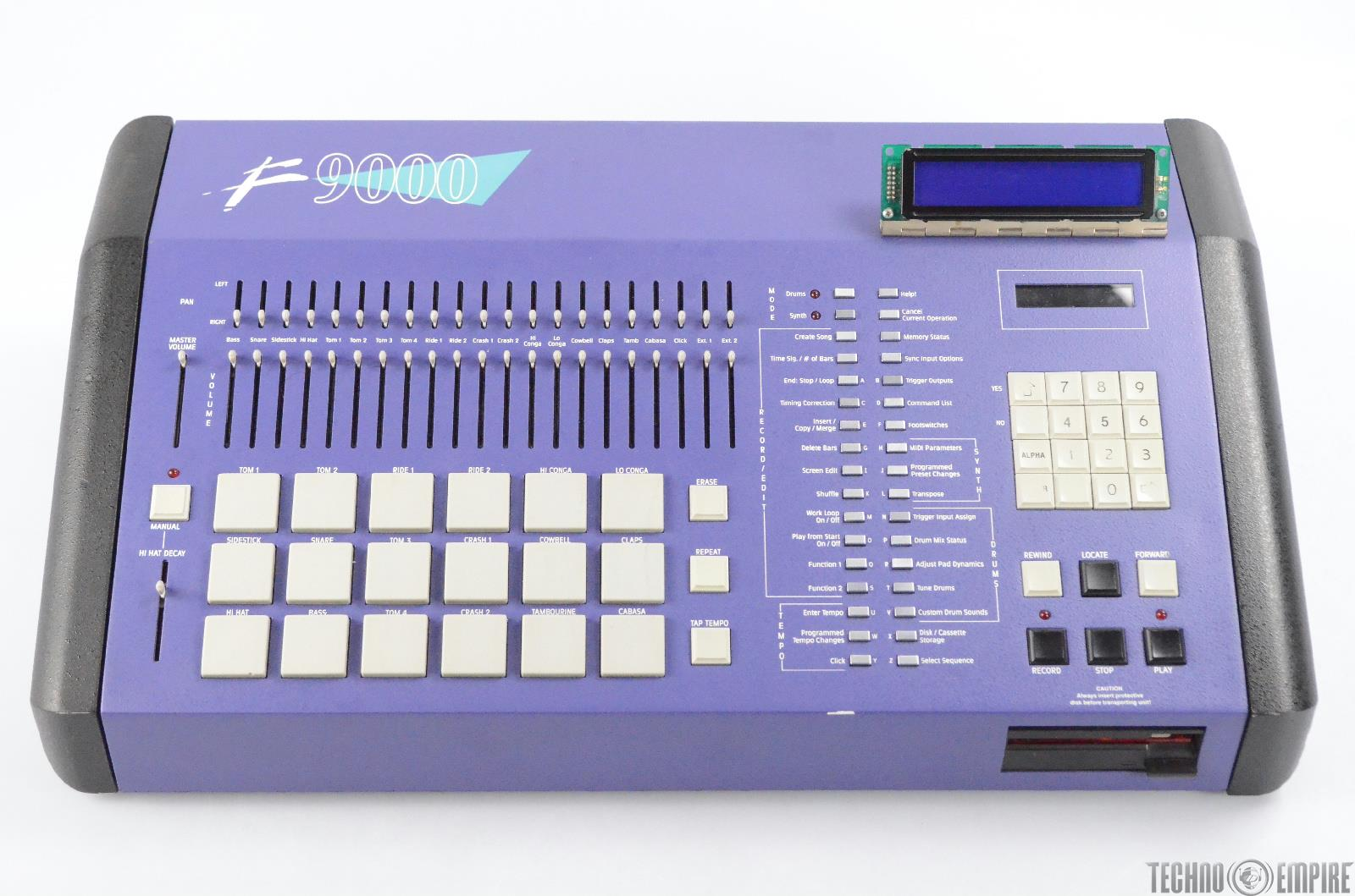 Forat F9000 Drum Machine Rev 7.09 Custom Modified & Hot Rodded Linn 9000 #30813