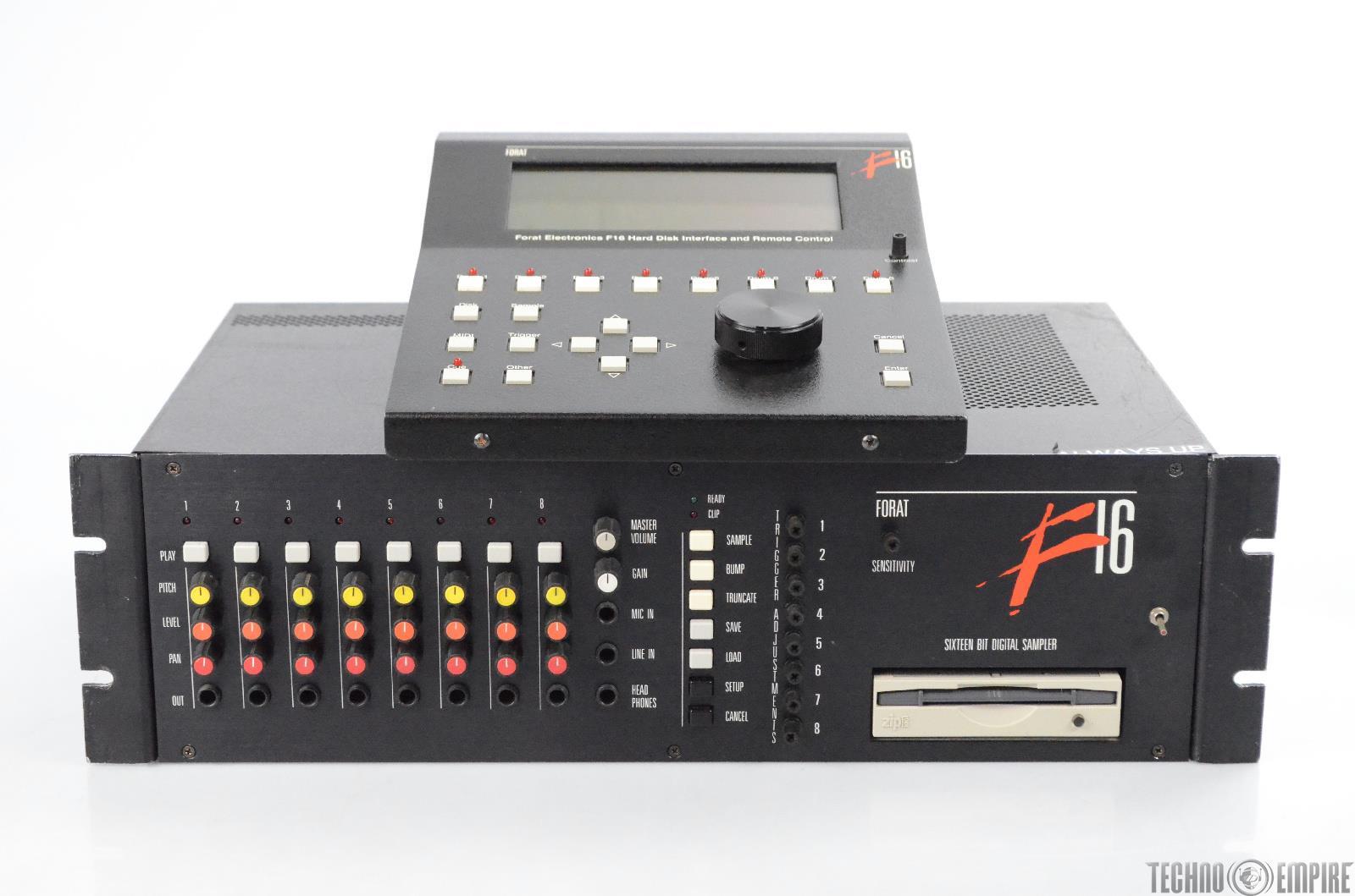 Forat F16 Digital Sampler Electronic Drum Module w/ Remote Control F 16 #30814