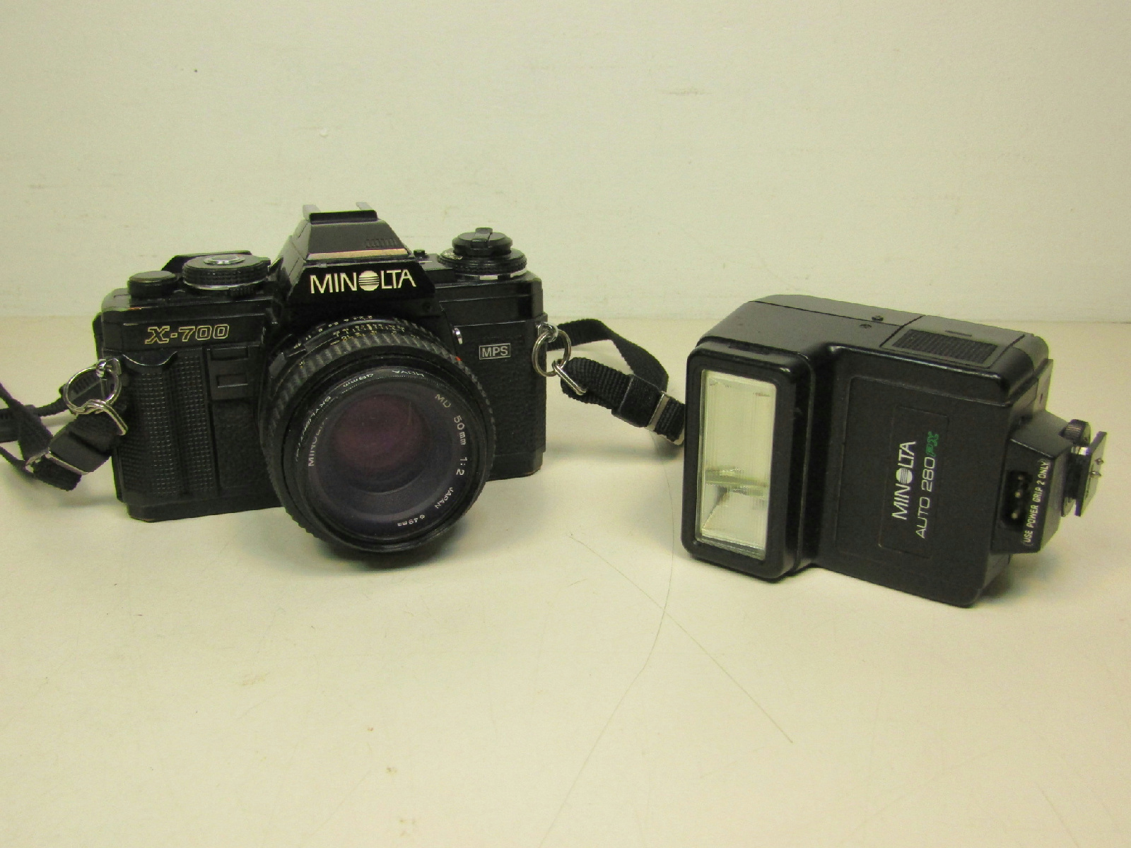 minolta x 700 how to use