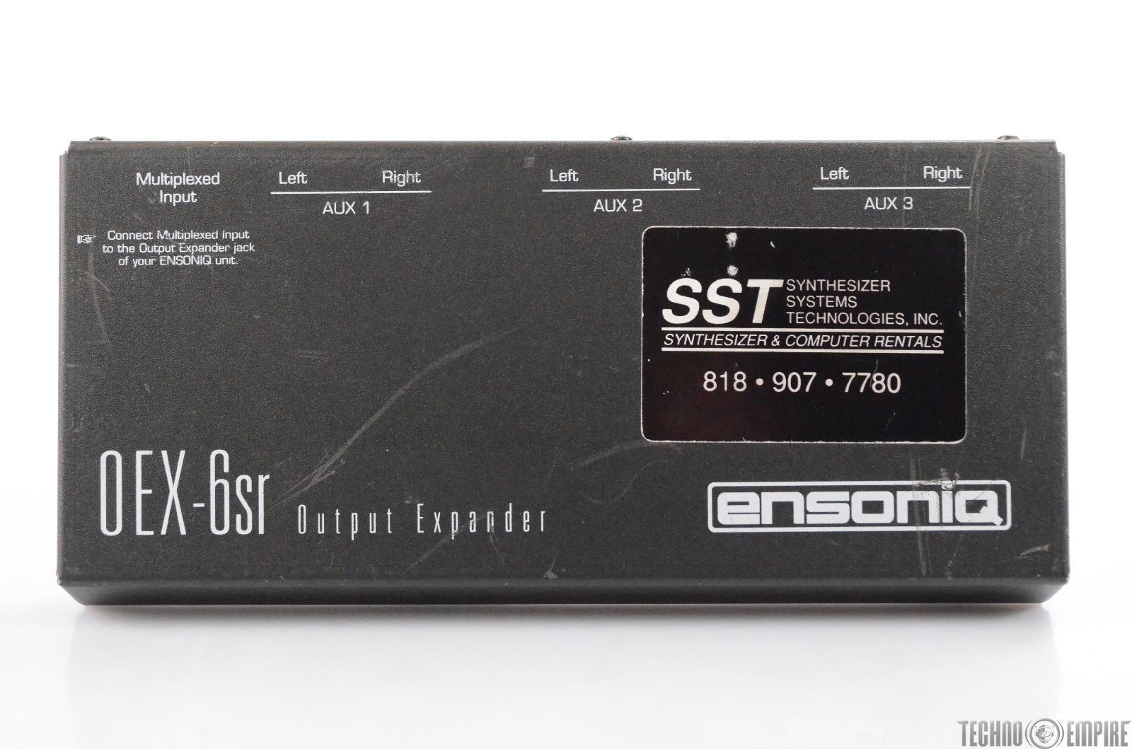 Ensoniq OEX-6sr Output Expander for Ensoniq Keyboards ASR-10 ASR-88 #30941
