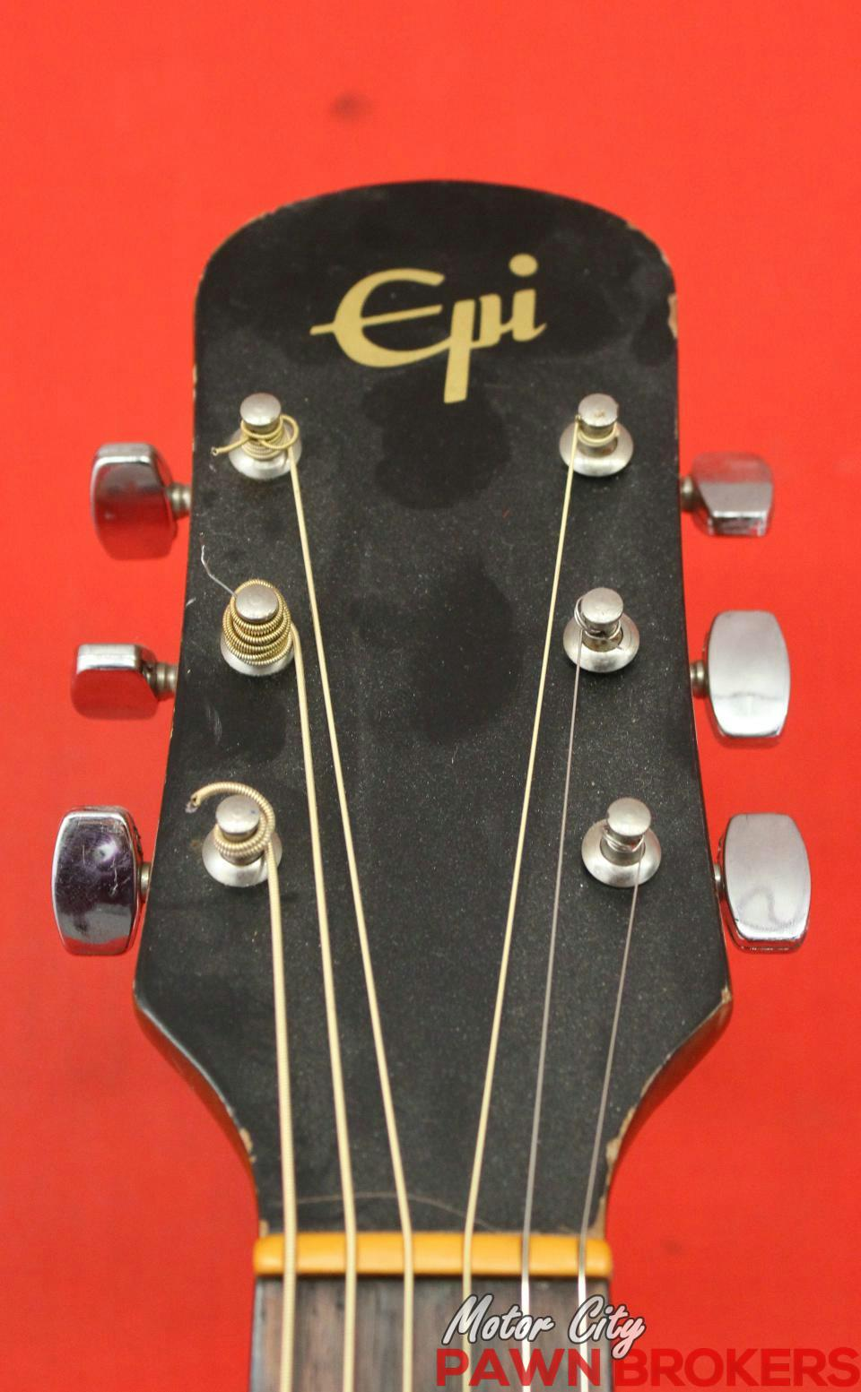 Epiphone ed 100 6 string right handed mahogany for Motor city pawn brokers roseville mi