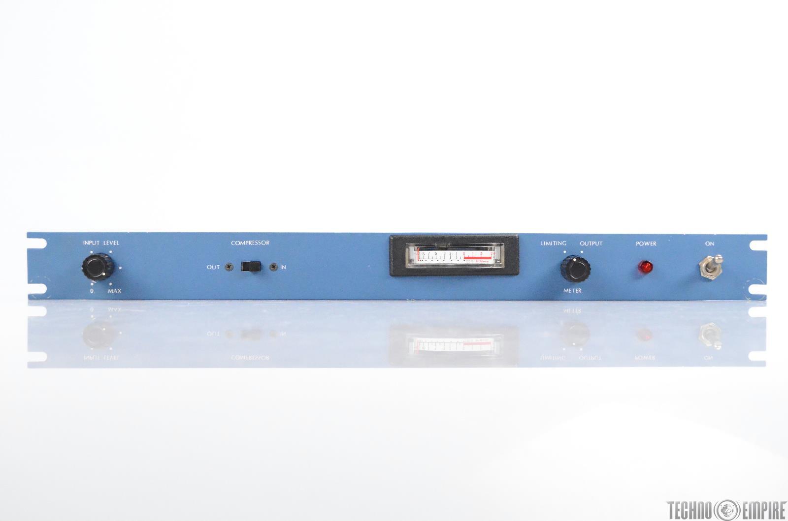 McMartin LR-1004A Compressor Limiter LR1004A Blue Rack Dynamic Processor #31006