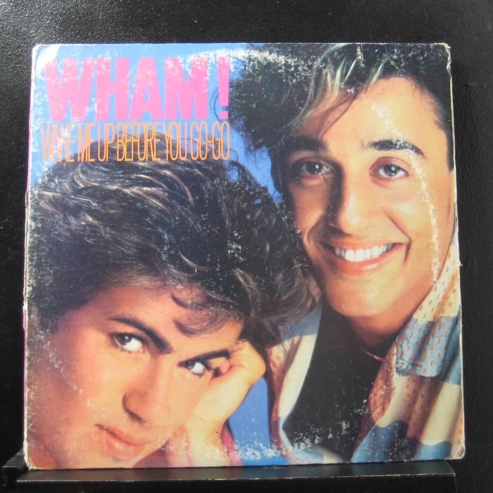 Details About Wham Wake Me Up Before You Go Go Lp Vg 44 05049 Promo Vinyl Record