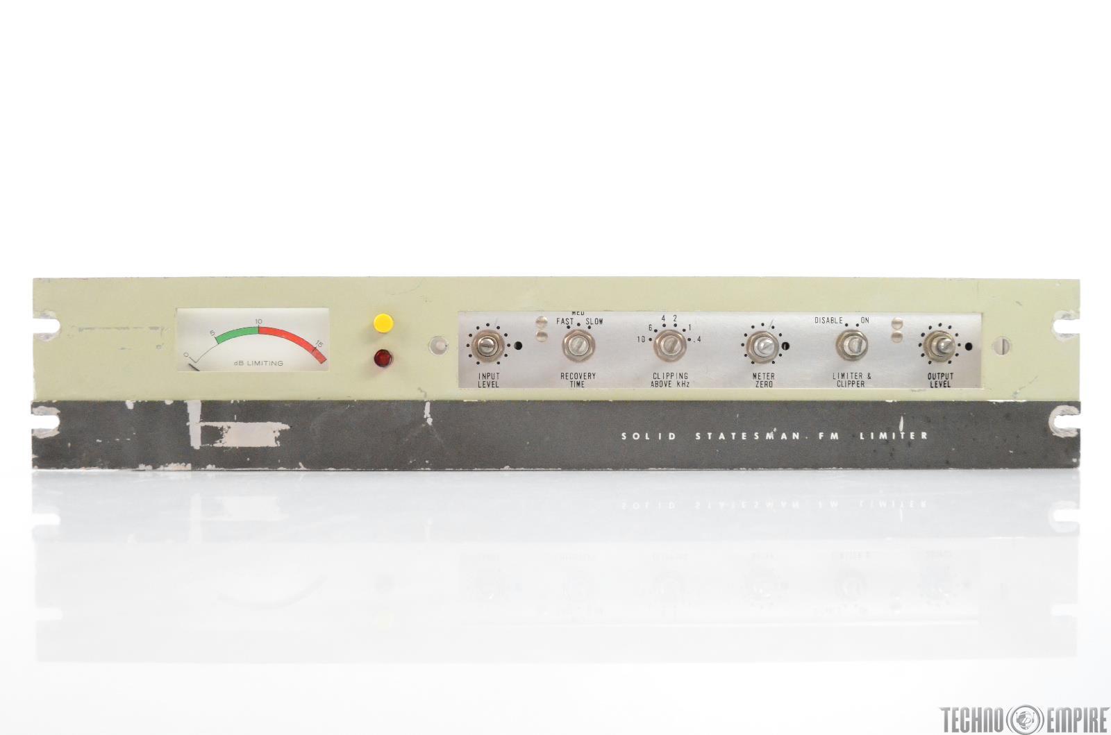 Gates Solid Statesman Limiter Compressor Model 994-6631-001 #31009