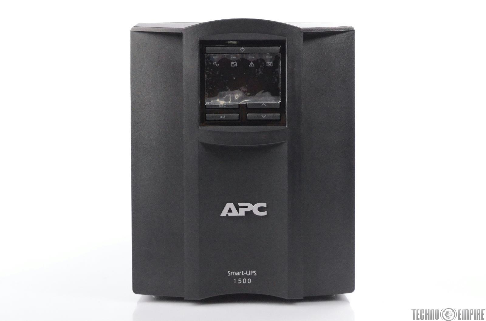 APC Smart-UPS 1500 Backup Battery Power Supply w/ Packaging & Accessories #31059