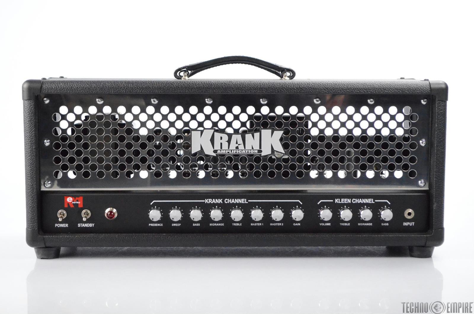Krank Amplification Rev1 100 Watt 2-channel Guitar Amp Head Amplifier #31055
